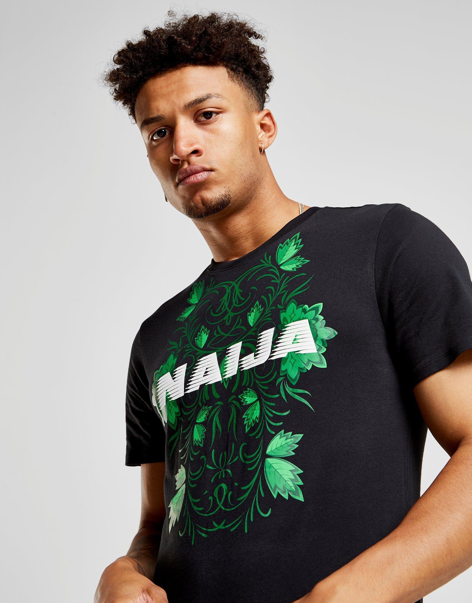 big sale 0919b 63df7 Nike Black Nigeria Squad T-shirt for men