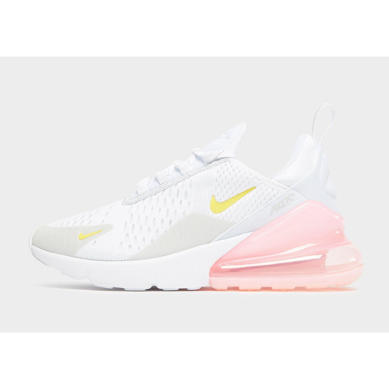 Nike Synthetic Air Max 270 In White Pink Yellow White Lyst