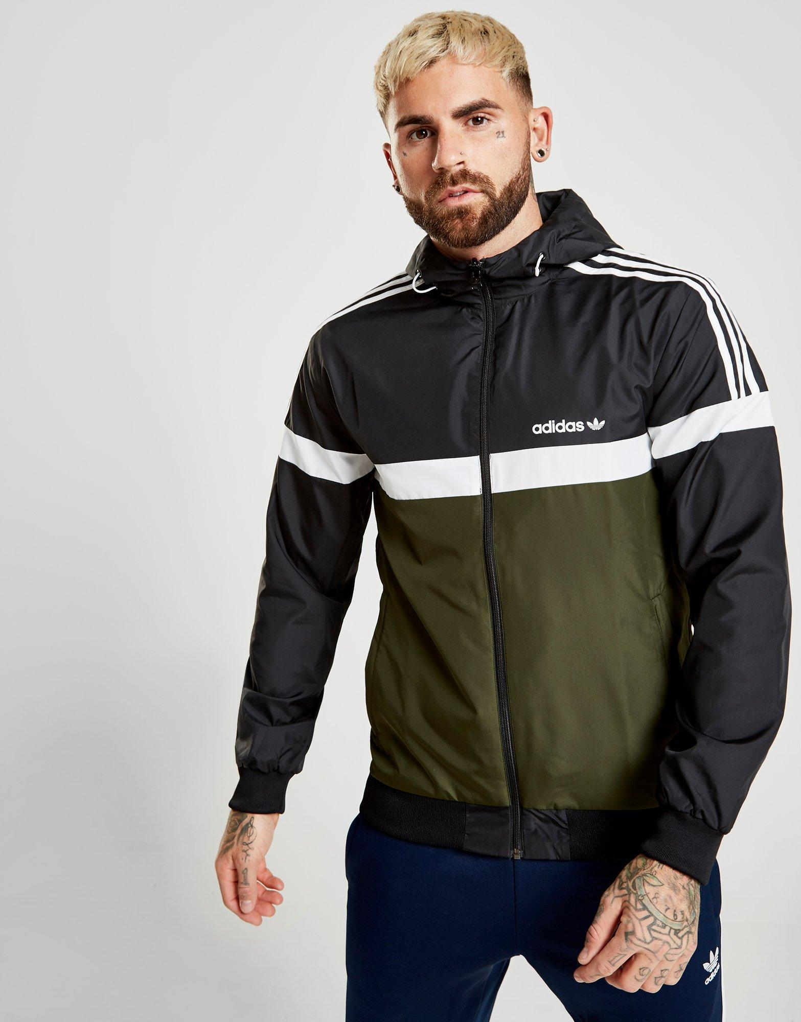 Lyst Adidas Originals Itasca Reversible Jacket In Black For Men
