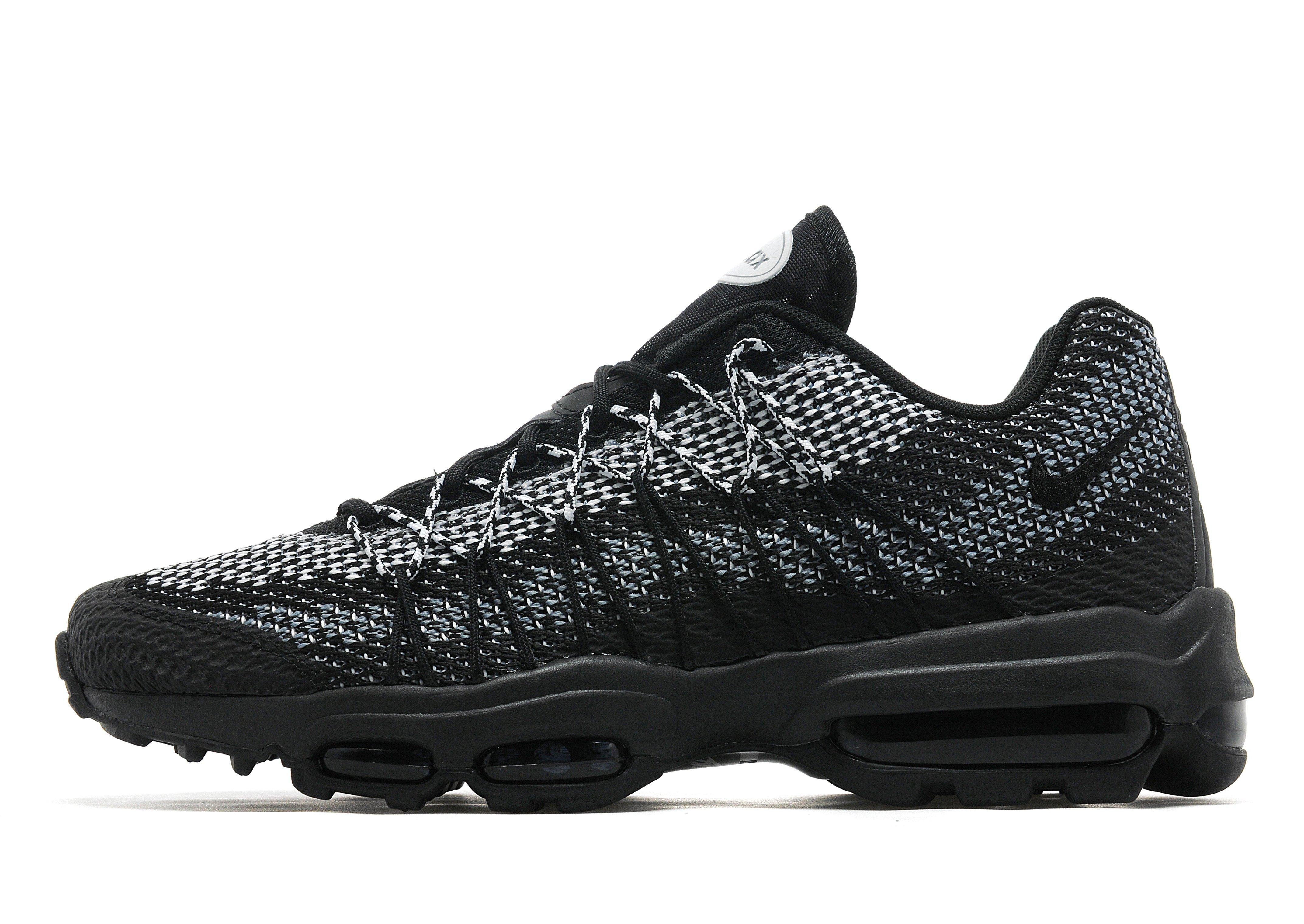 Nike Synthetic Air Max 95 Ultra Jacquard in Black for Men - Lyst