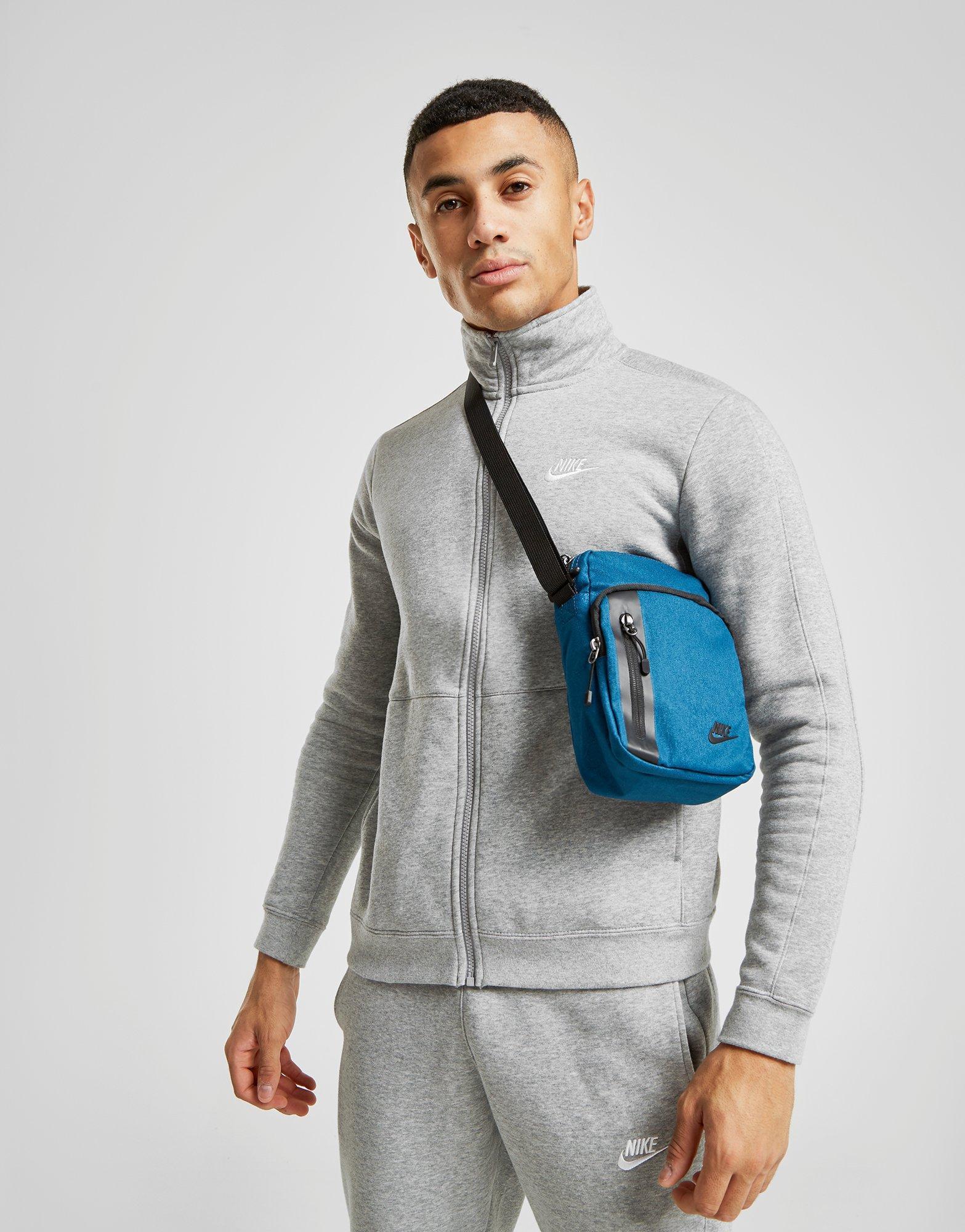 inversión máximo parcialidad  Nike Synthetic Core Small Crossbody Bag in Blue/Black (Blue) for Men - Lyst