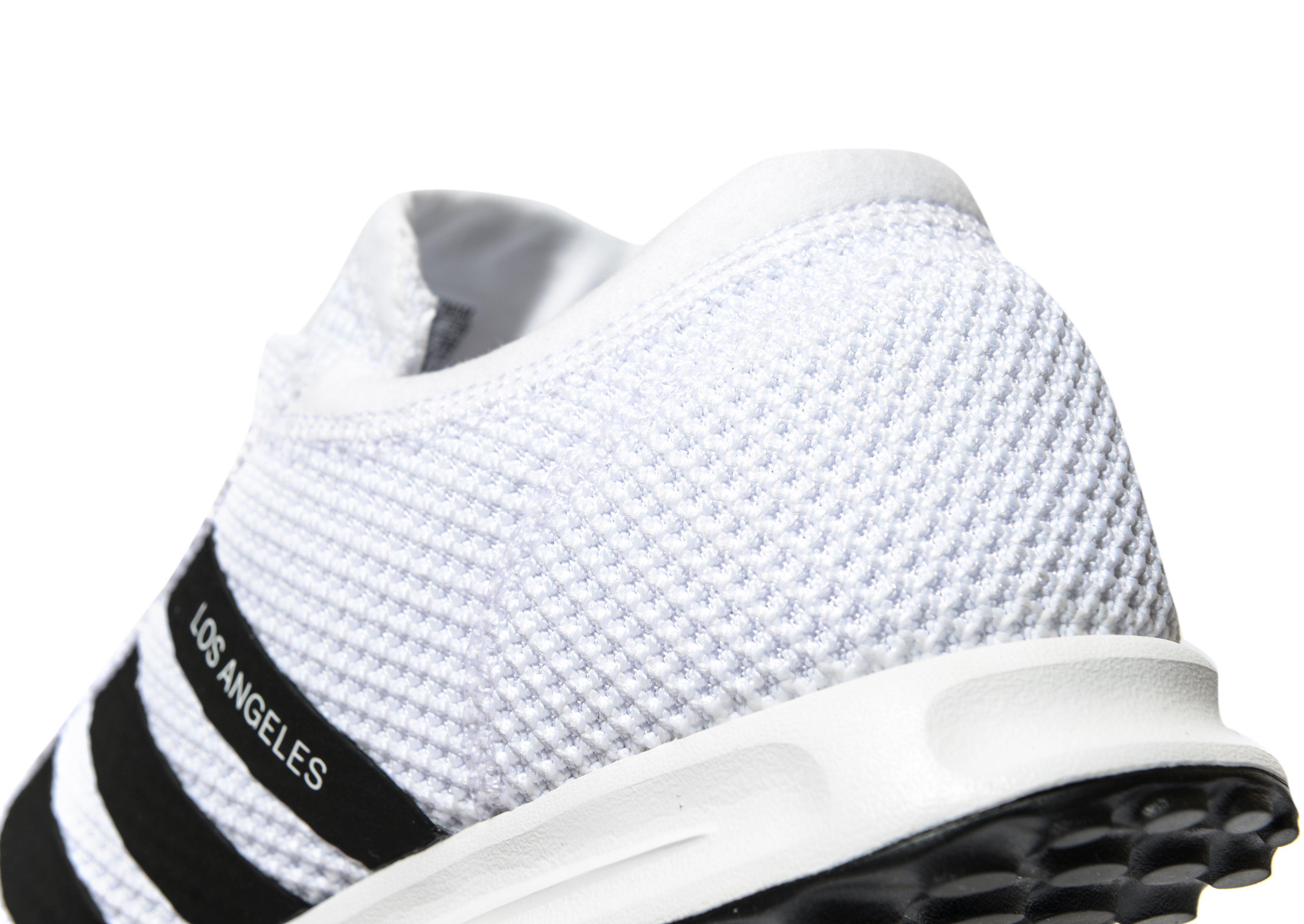 adidas los angeles white and black