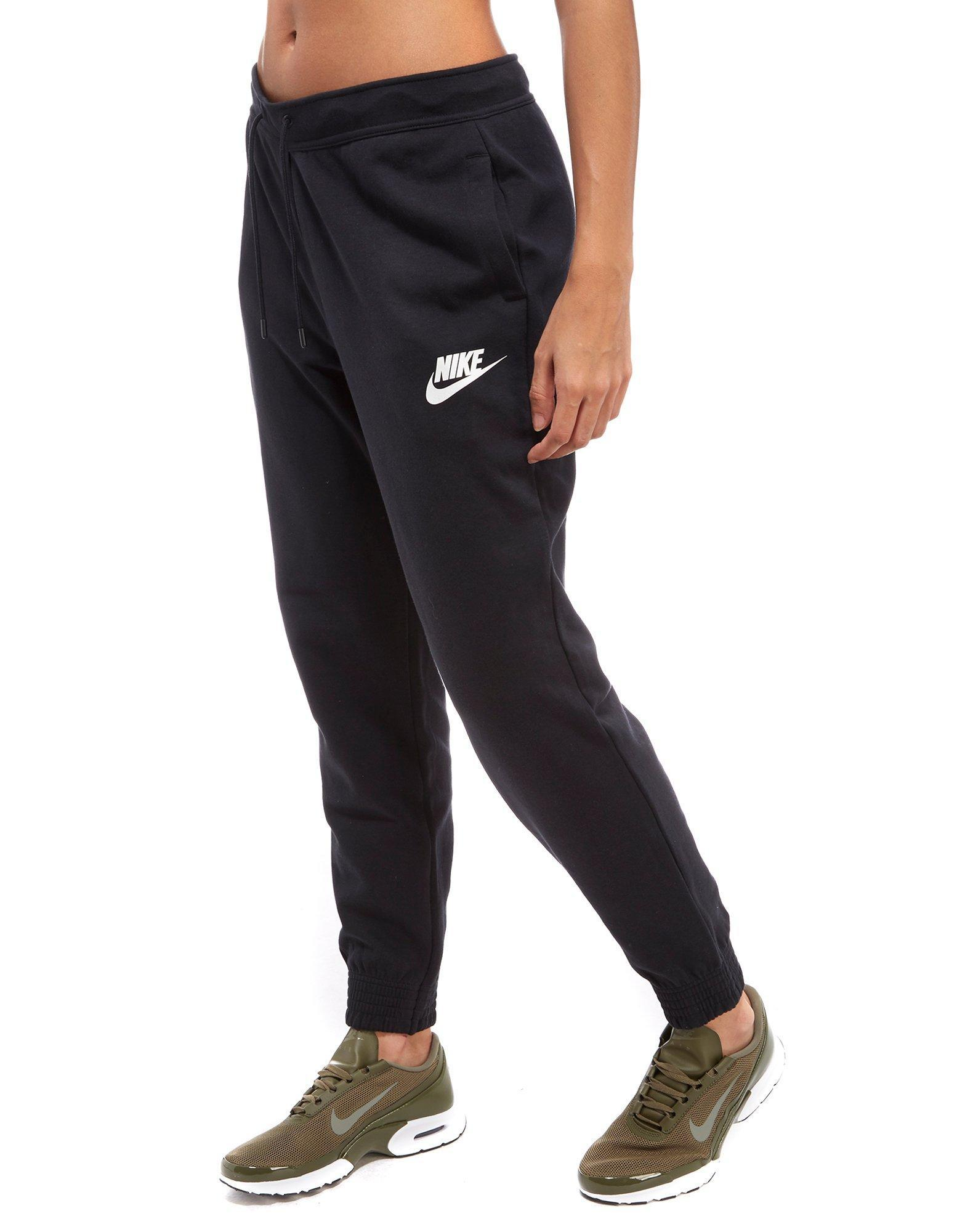 Nike Cotton Air Max Track Pants In Black Lyst