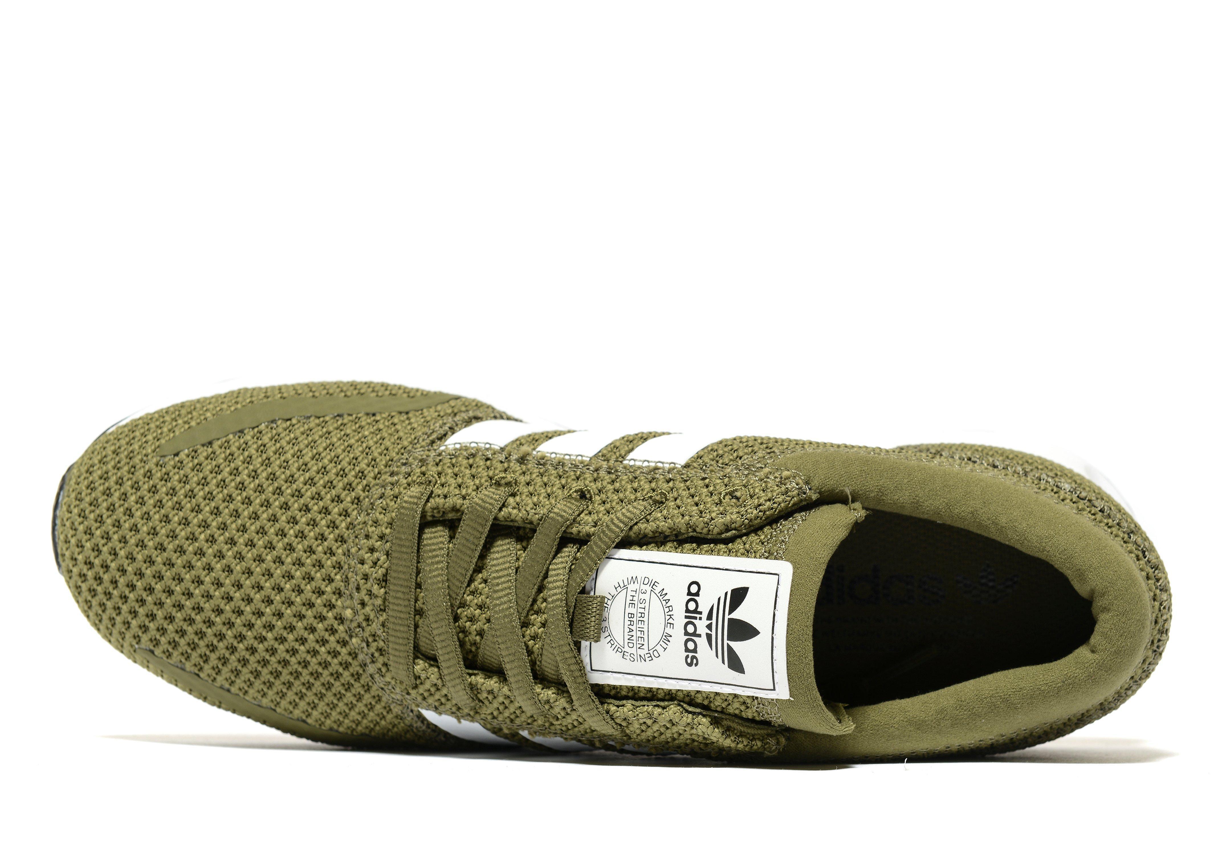Serafín Radioactivo Ver a través de  adidas Originals Rubber Los Angeles Ck in Olive/White (Green) for Men - Lyst