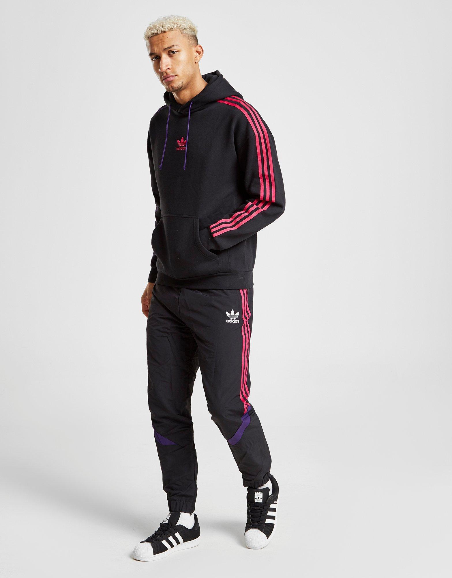 Adidas Originals Black Sportivo Overhead Hoodie for men