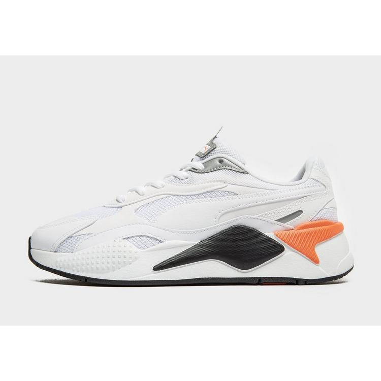PUMA Leather Rs-x Radiance in White/Red
