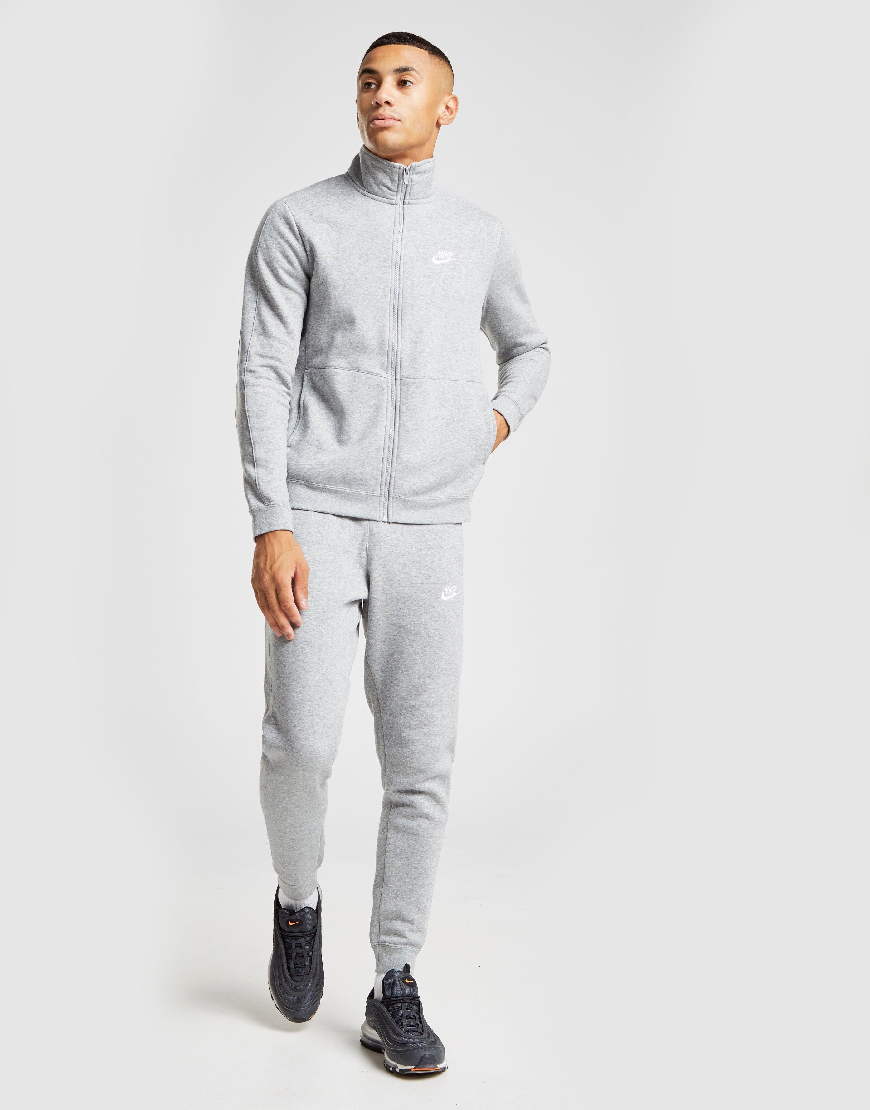 nike fleece grey