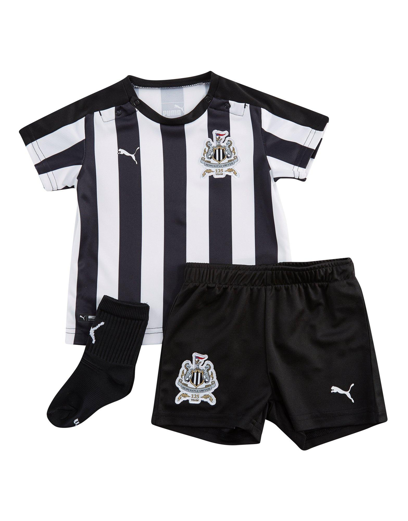 PUMA Newcastle United 2017 18 Home Kit Infant in Black for Men - Lyst 2d7c1a405