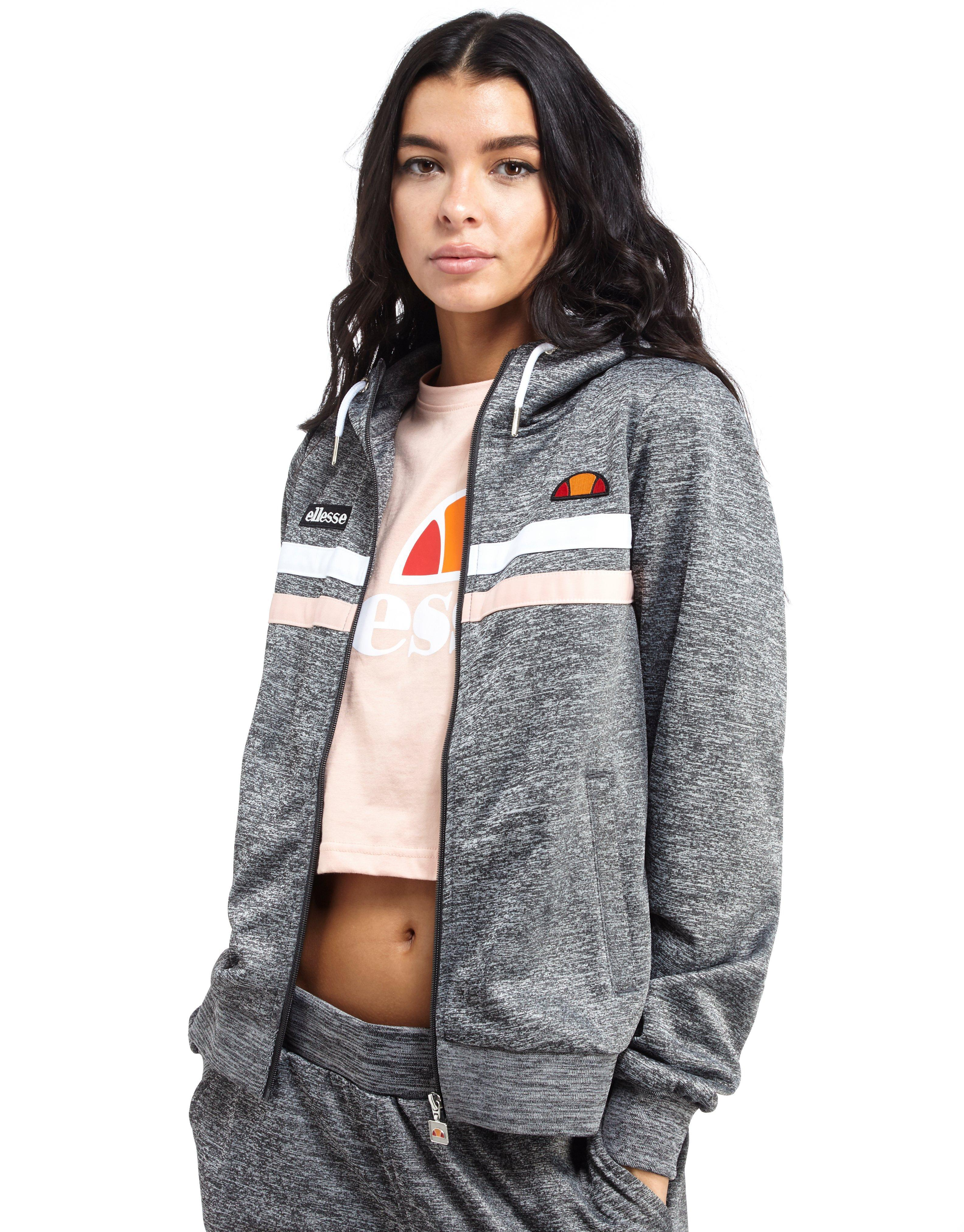 real deal many choices of marketable Ellesse Gray Poly Full Zip Hoody