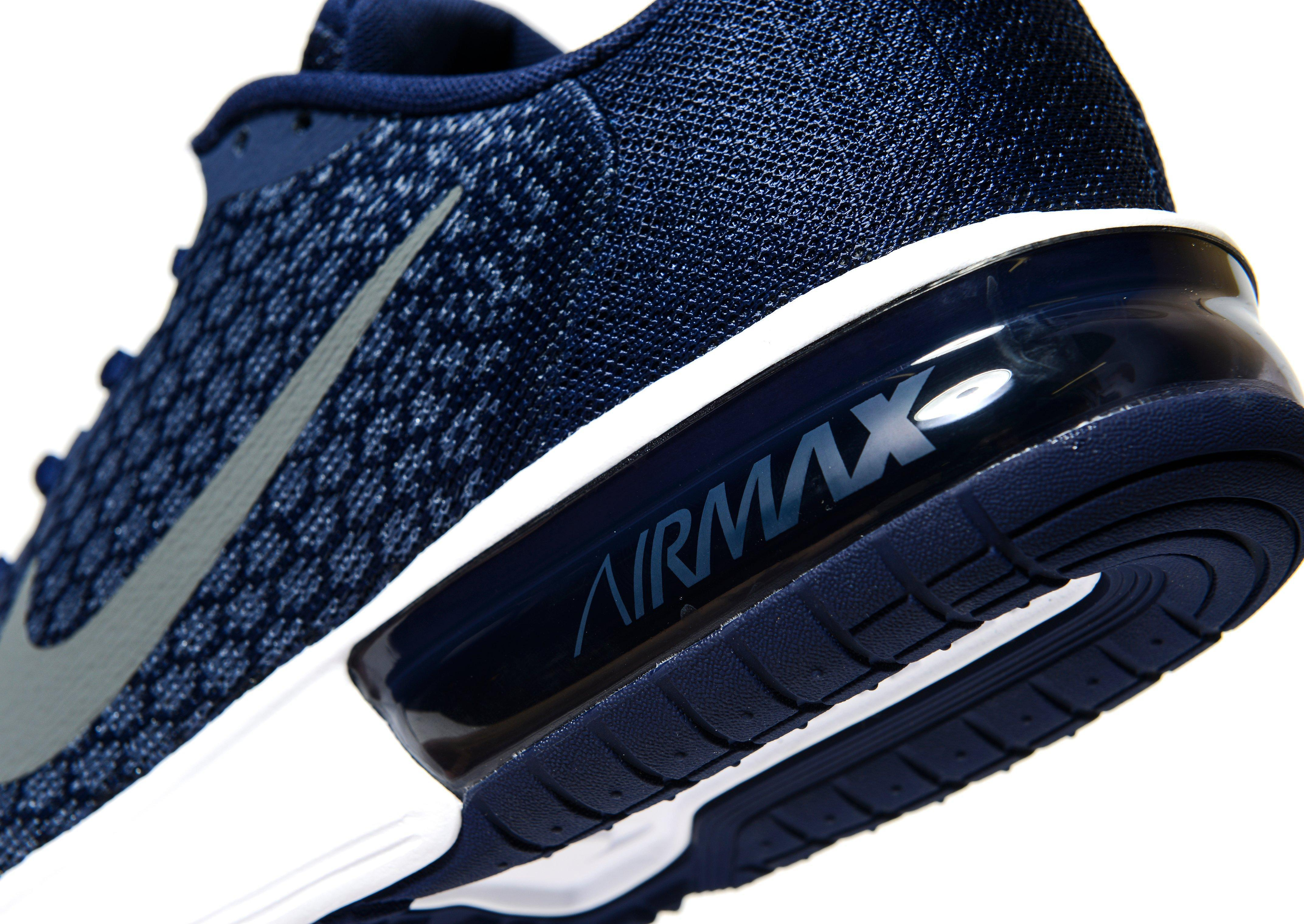 lyst nike air max sequent 2 in blue for men. Black Bedroom Furniture Sets. Home Design Ideas