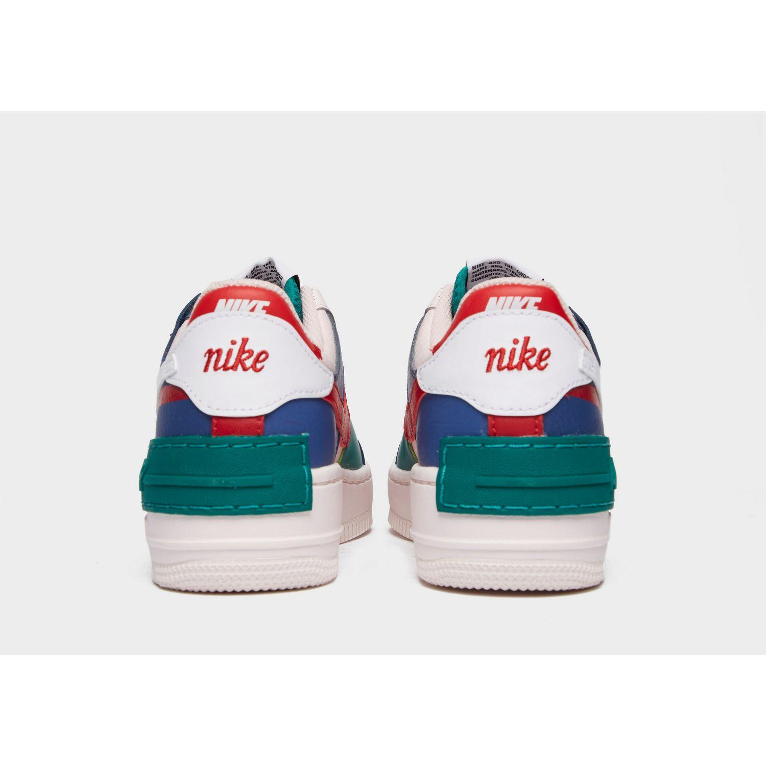 Nike Leather Air Force 1 Shadow In Navy Pink Blue Lyst Nike air force 1 low just do it white. air force 1 shadow