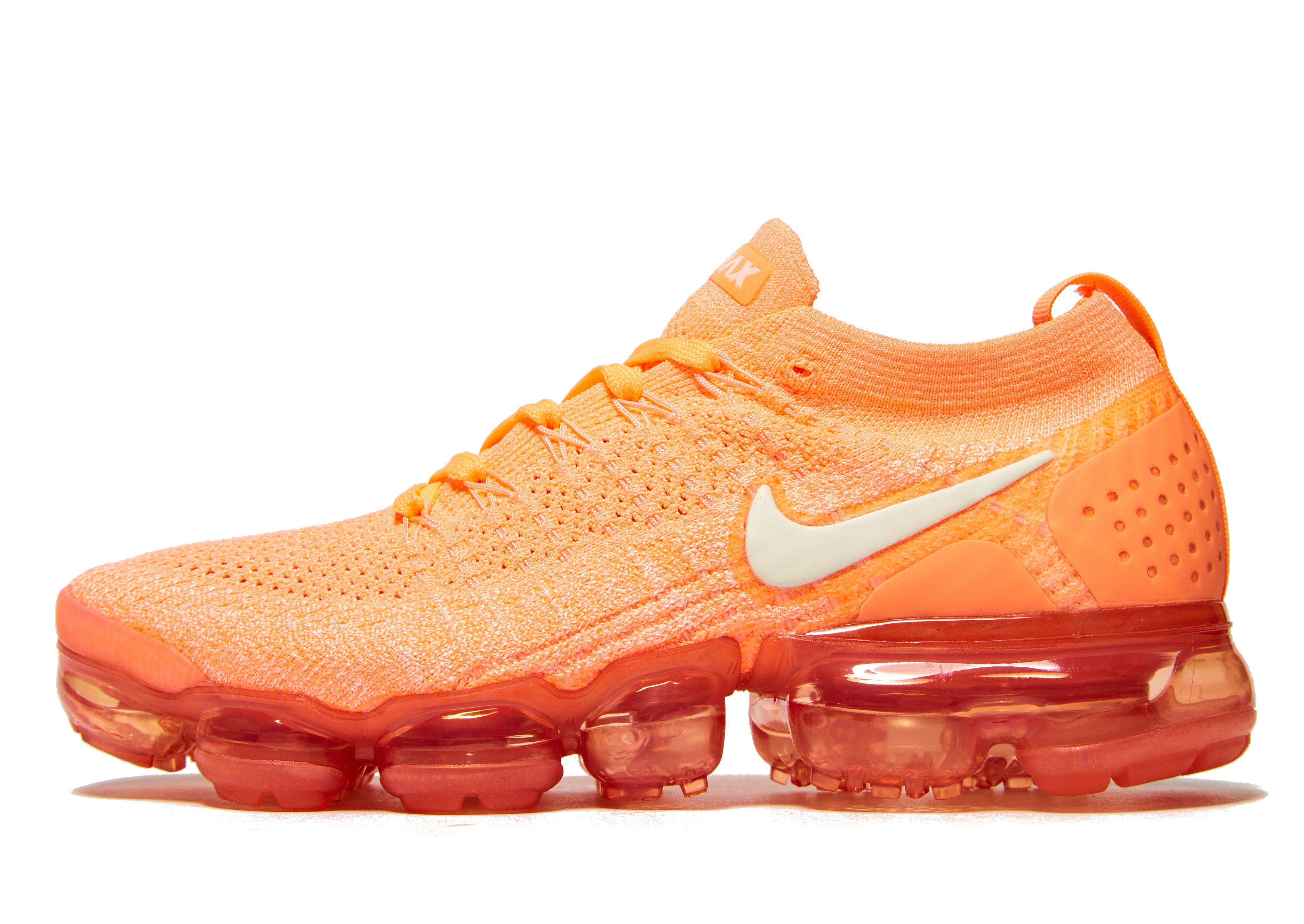 finest selection bfaff ca11e Nike Orange Air Vapormax Flyknit 2 for men
