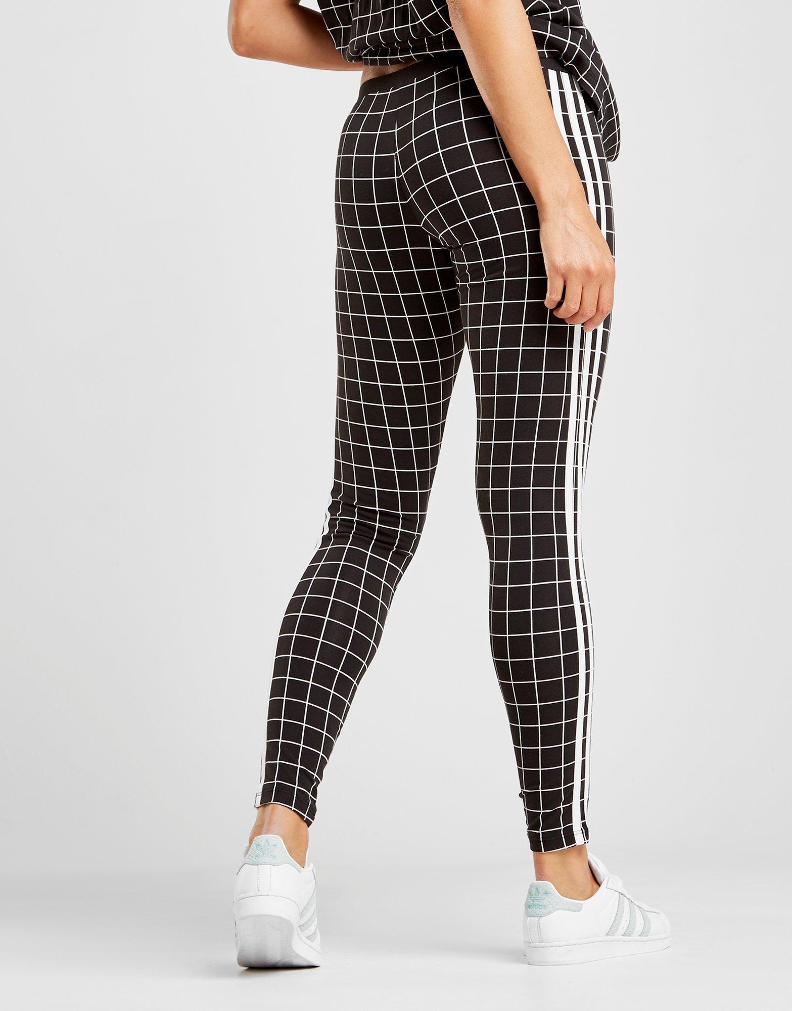 3 stripes adidas leggings