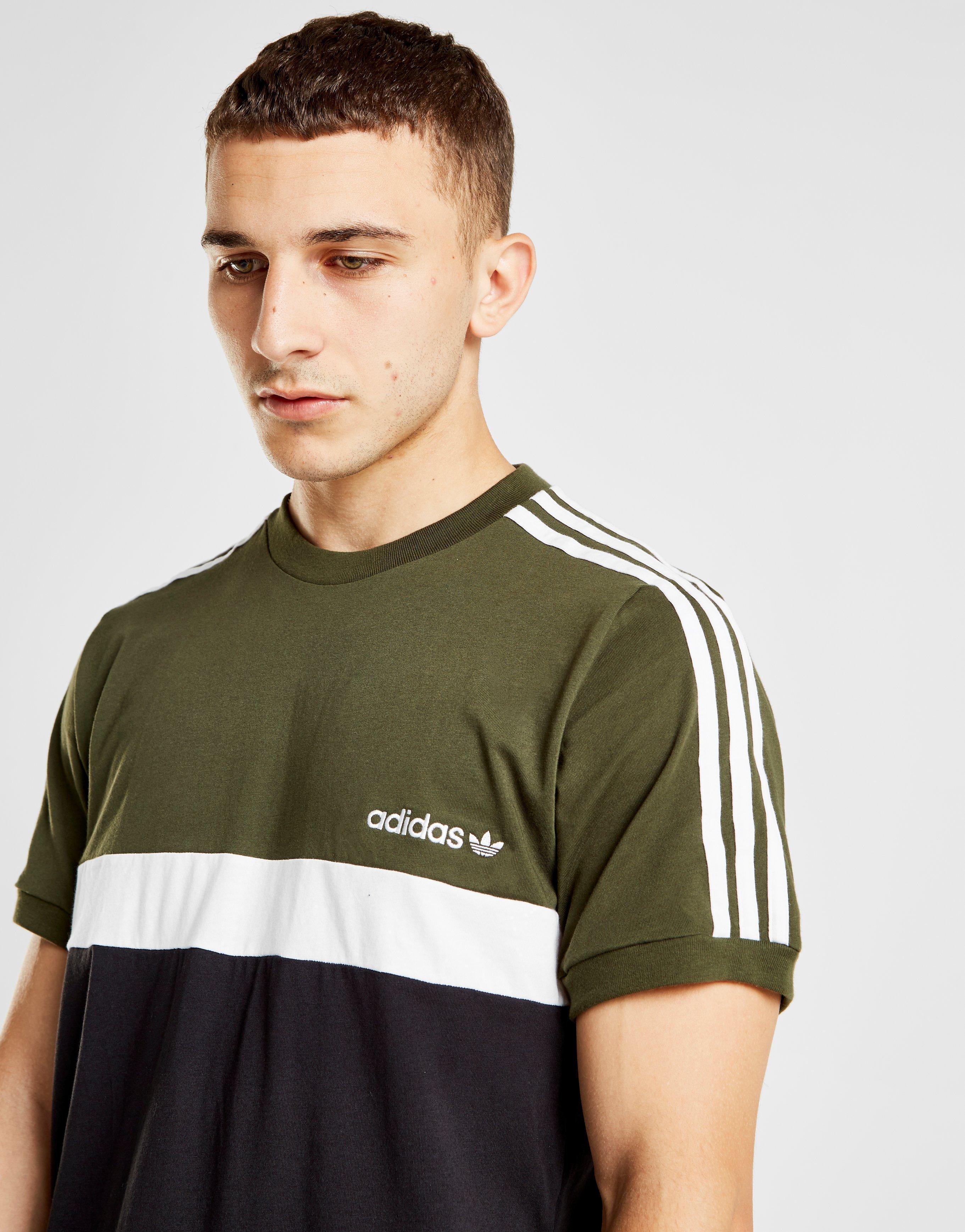Color Itasca T Voor Adidas Zwart Lyst shirt In Originals Block Heren Nm0wv8nO