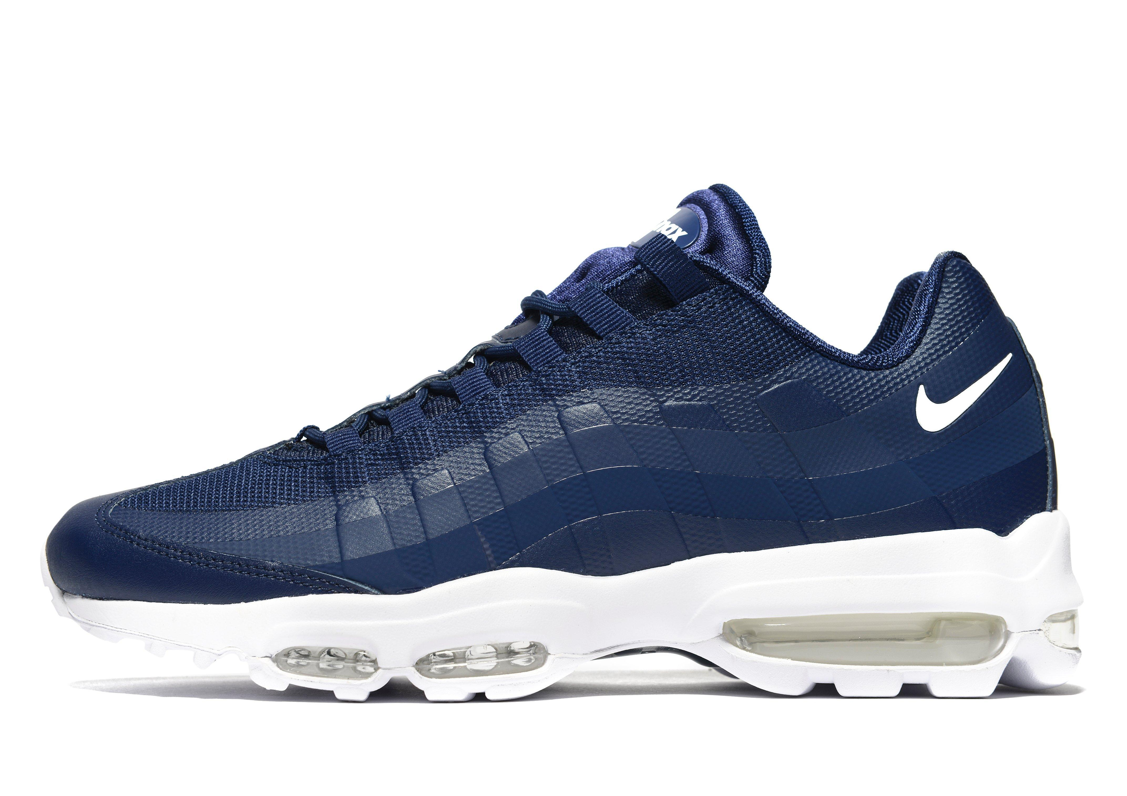 Nike Synthetic Air Max 95 Ultra Essential in Blue for Men - Lyst