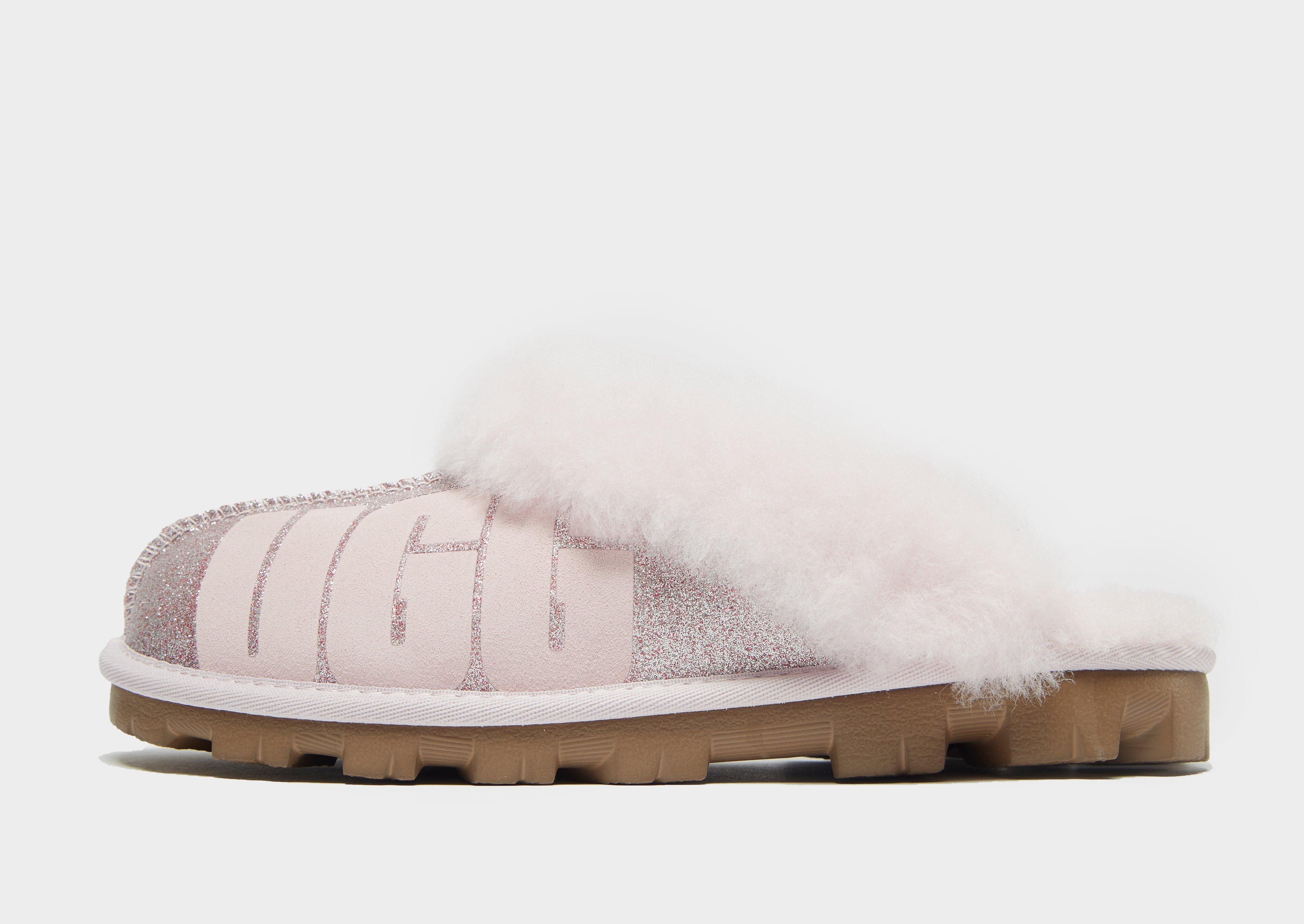 86a6f1d4276 Ugg Pink Coquette Sparkle Slippers