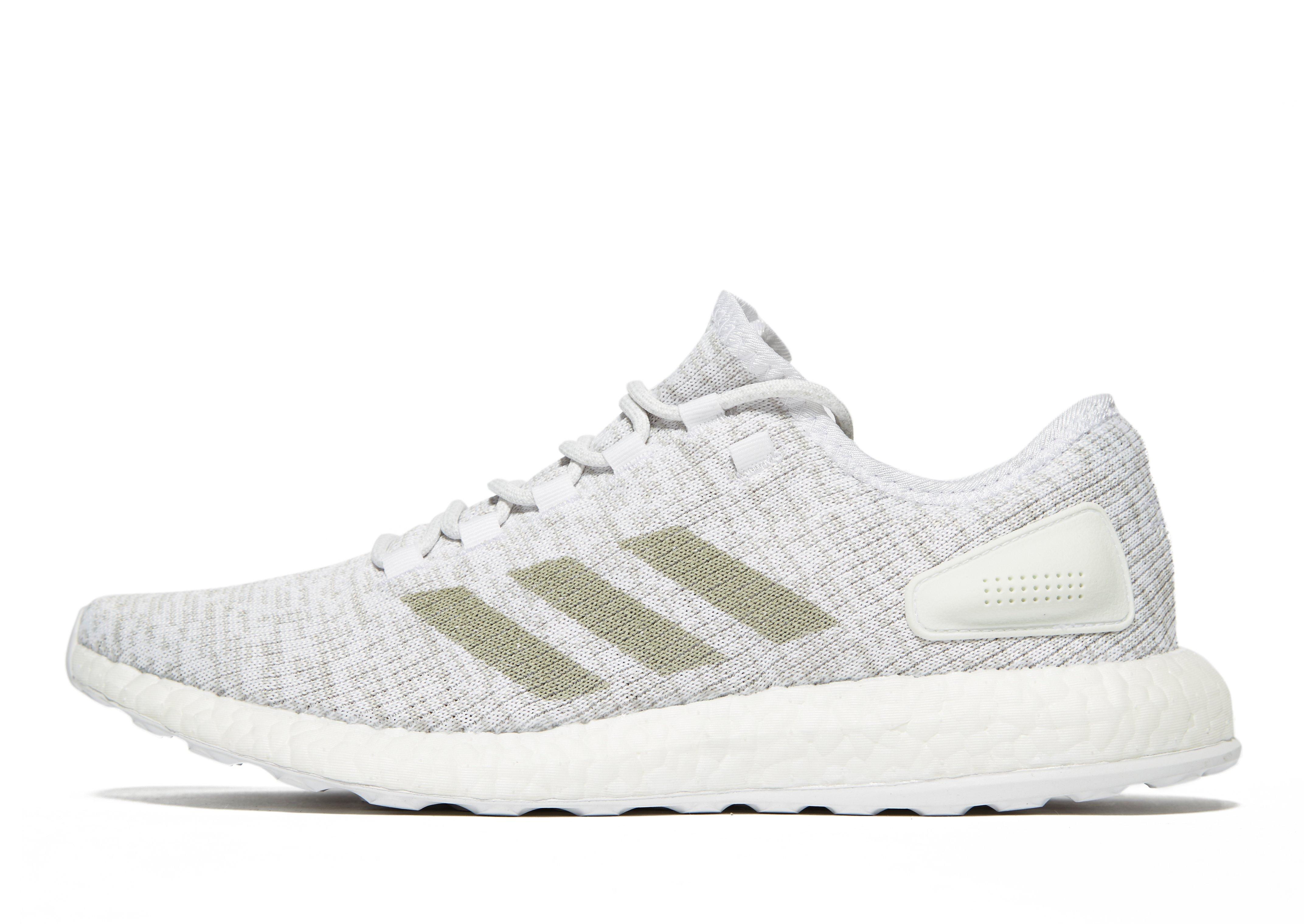 1a33386766c Adidas Pure Boost in White for Men - Lyst