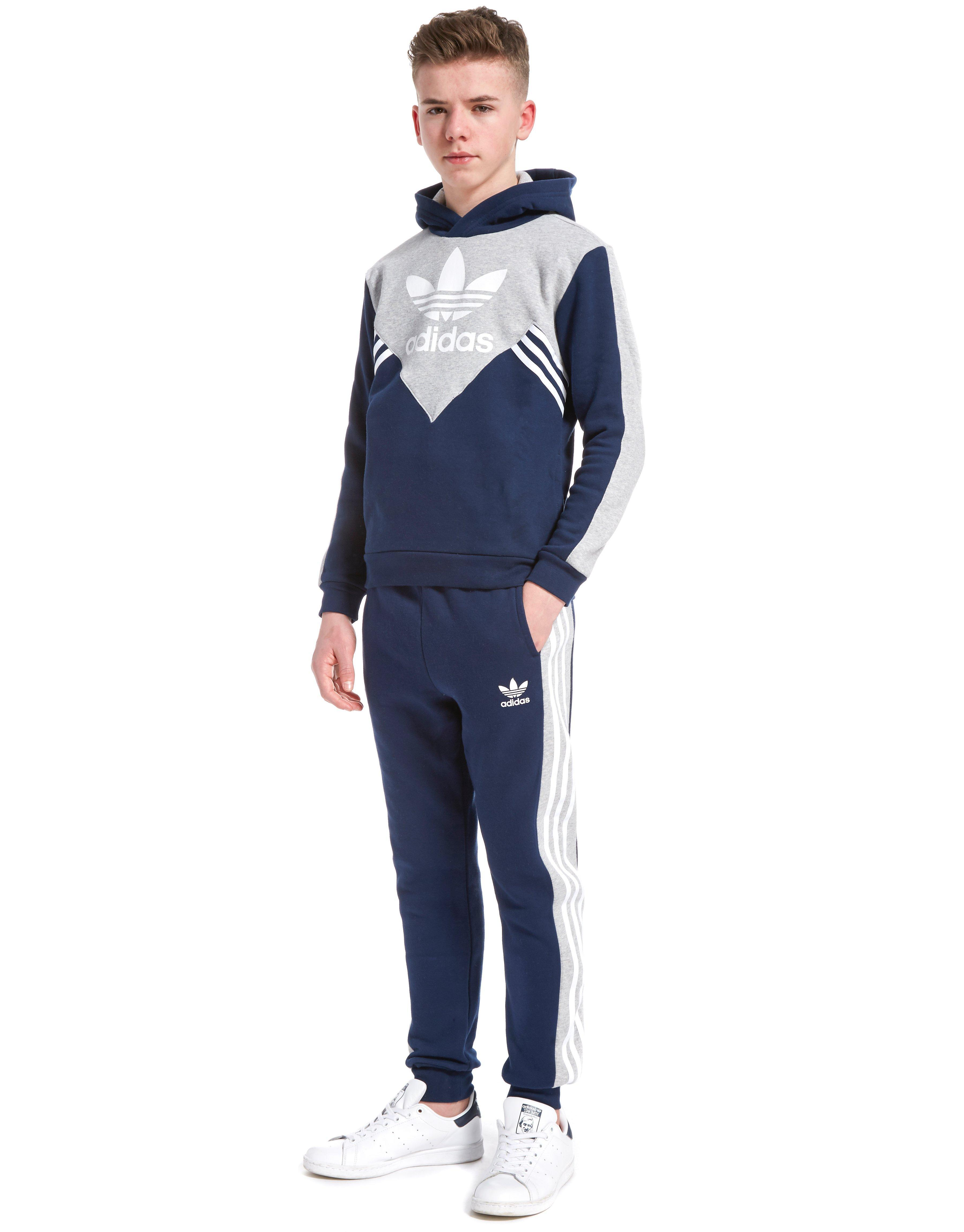 adidas fleece navy