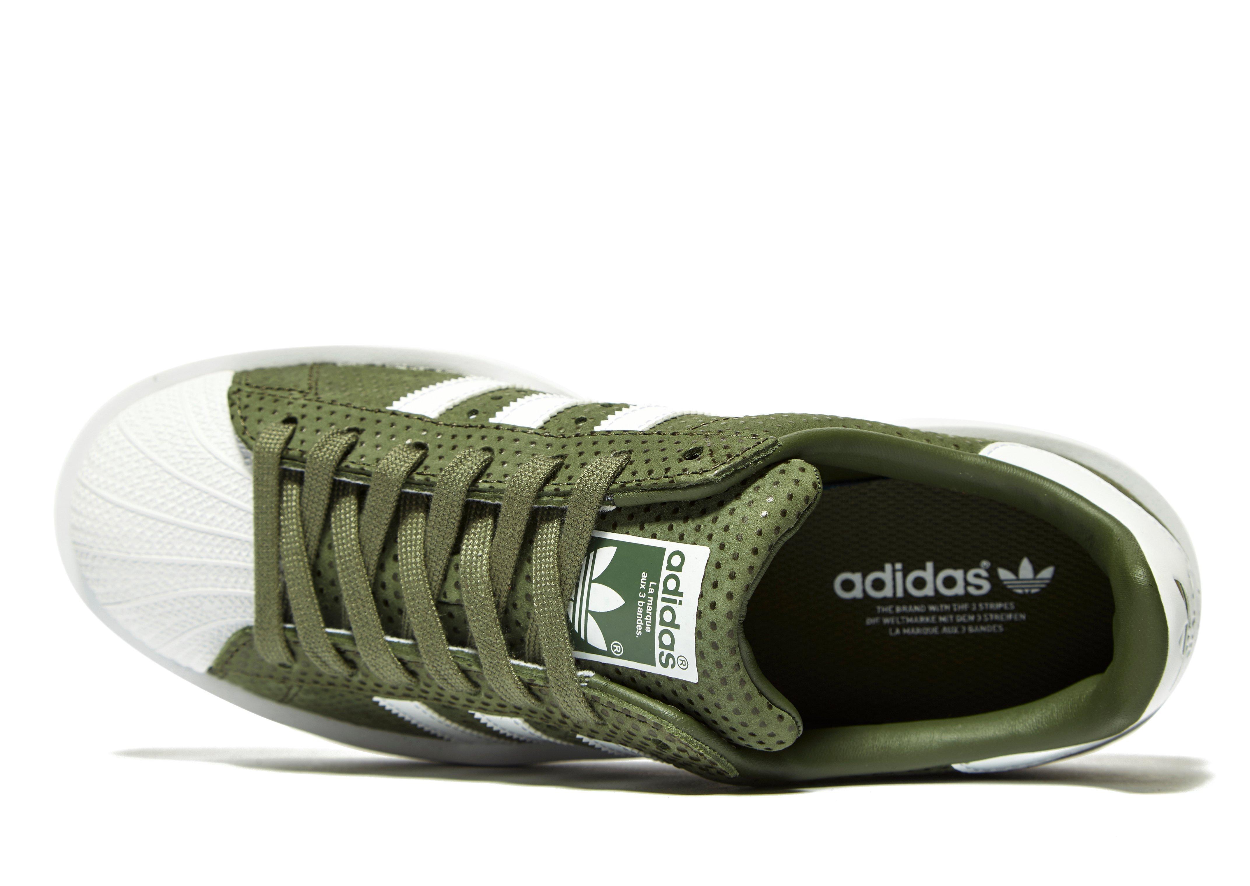on sale d5396 91255 new zealand adidas superstars khaki 88a32 e4e7f
