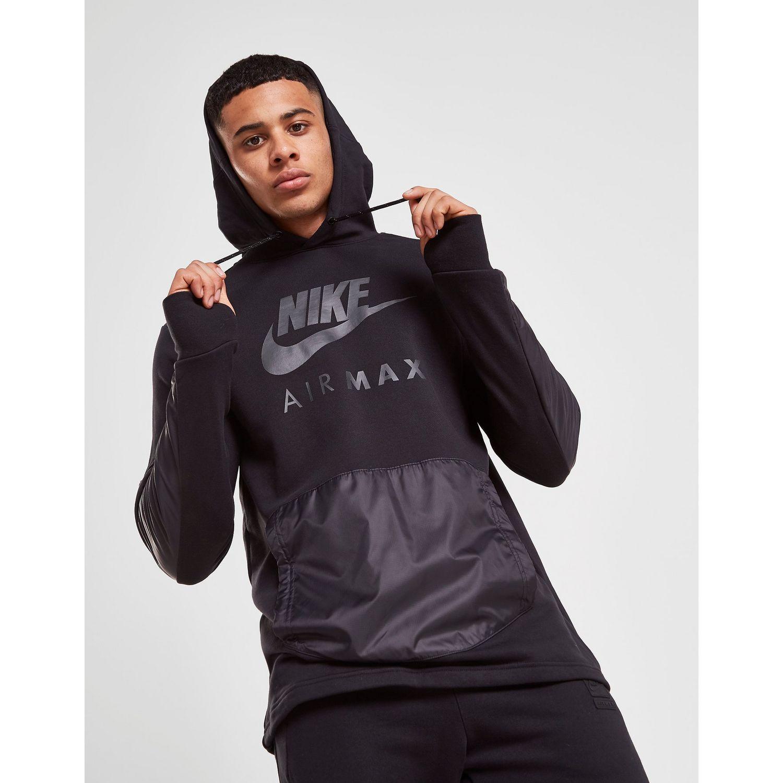 Nike Air Max Ft Overhead Hoodie in Black for Men Lyst