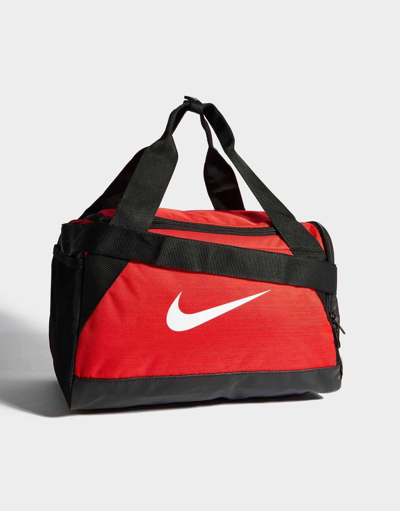 Men s Red Brasilia Small Duffel Bag . 2bb223a71a72d