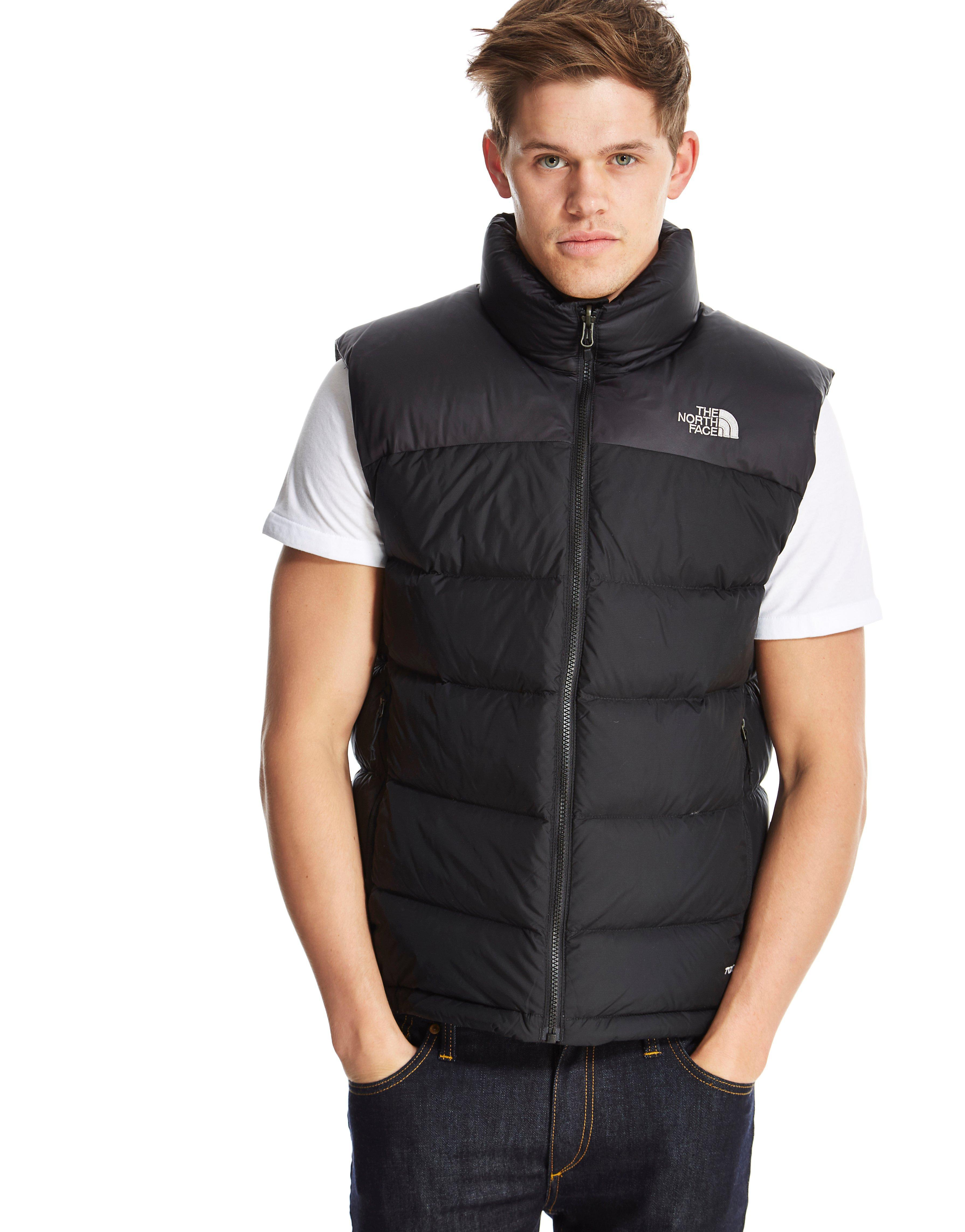 60809c515 The North Face Black Nuptse 2 Vest for men