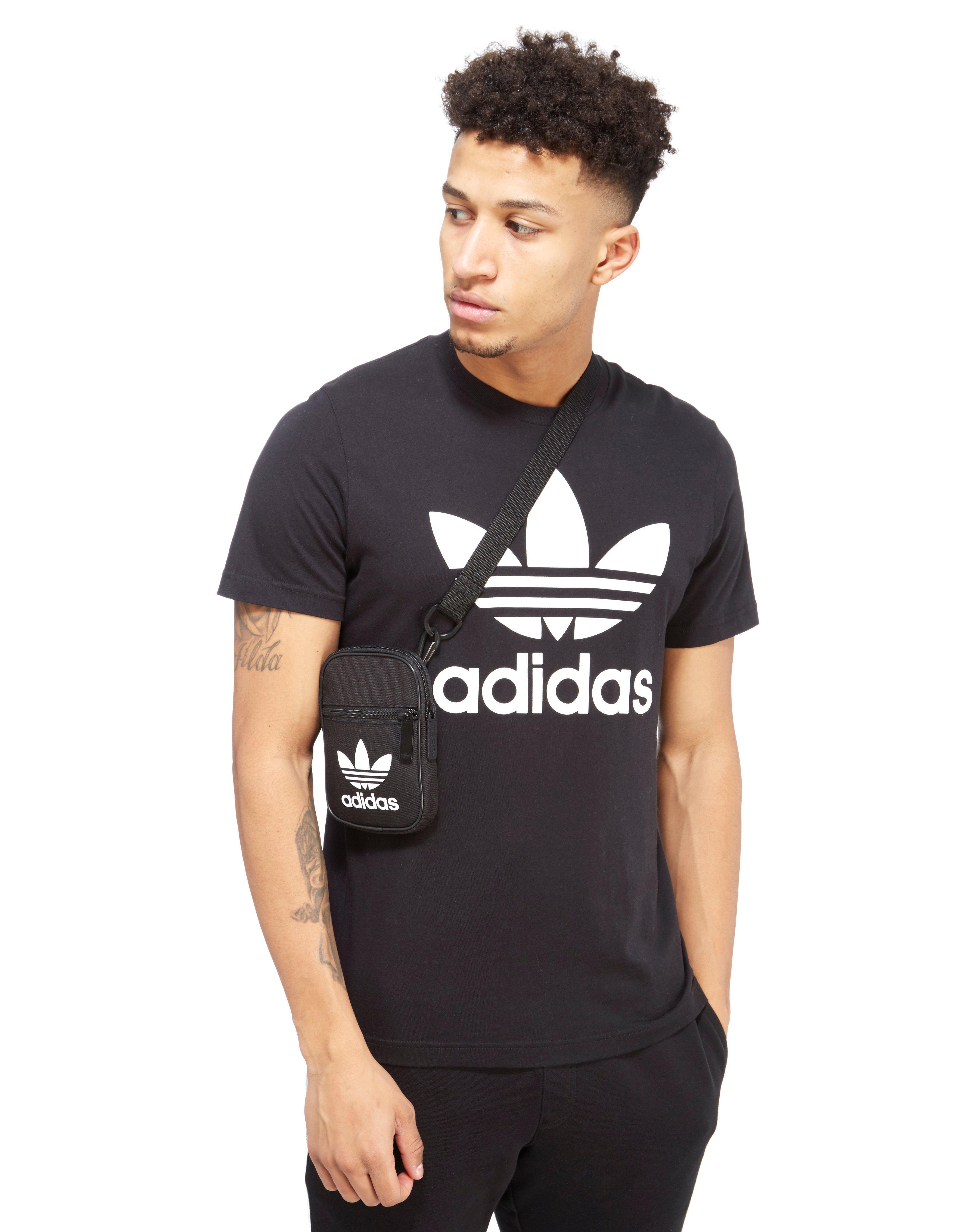 033e0e21cd Lyst - adidas Originals Trefoil Festival Bag in Black for Men
