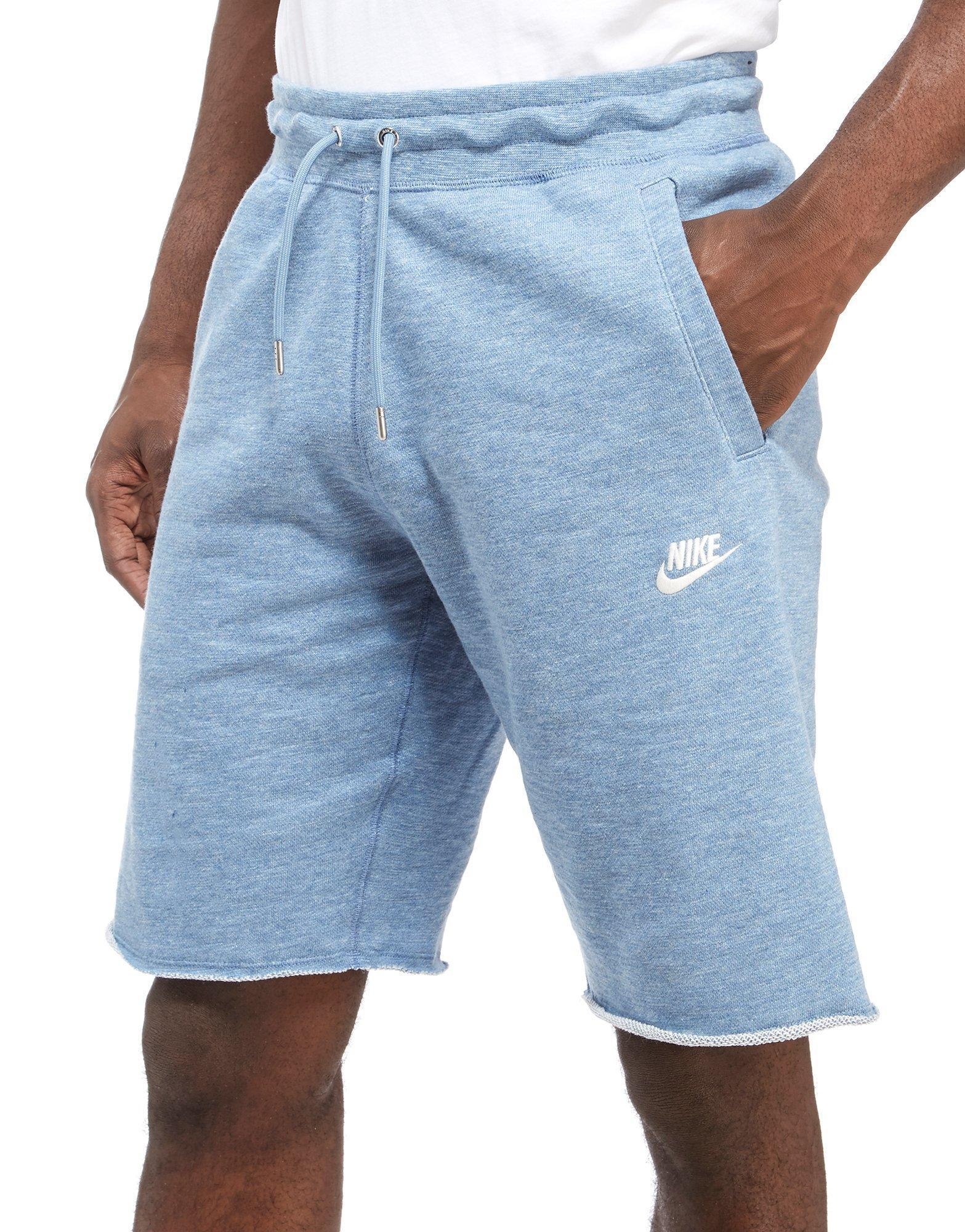 Nike Legacy Shorts in Blue for Men - Lyst
