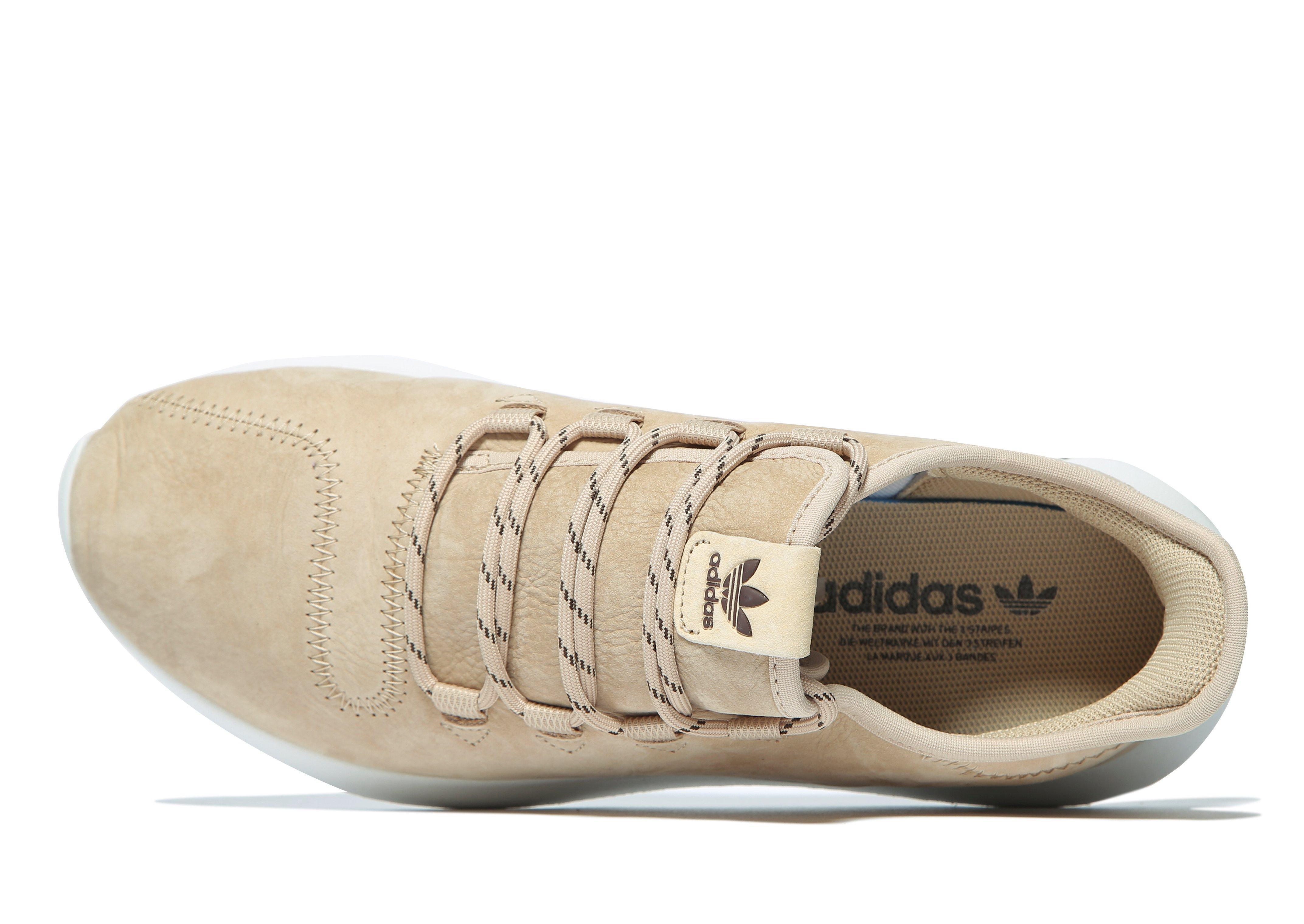 Adidas Originals tubular de sombra de cuero en marrón Lyst