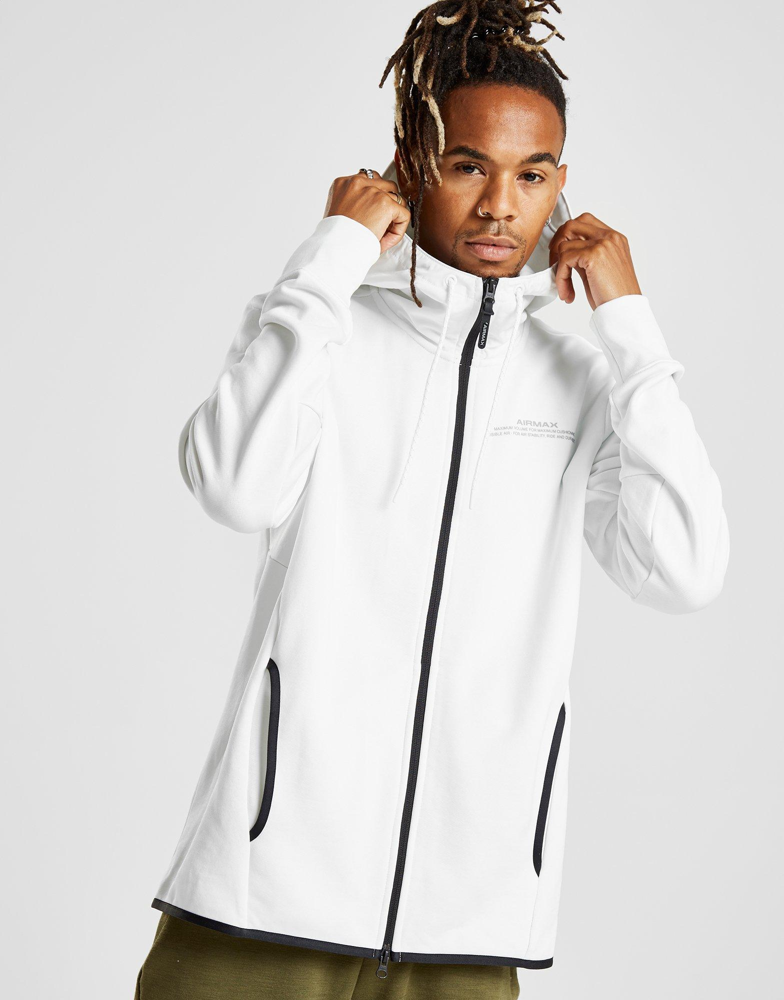 Nike Air Max French Terry Hoodie in White for Men - Lyst aa01e9f6b