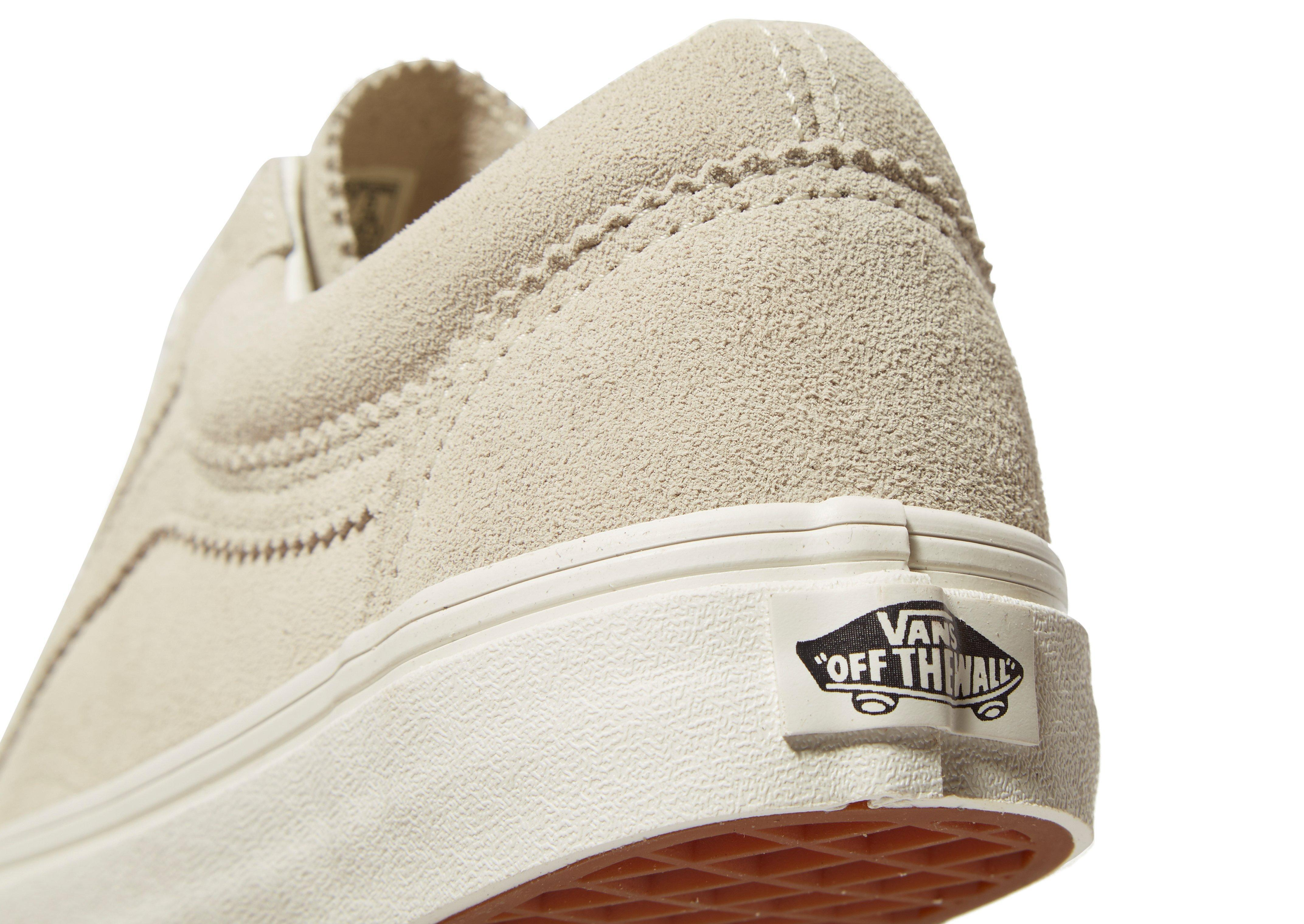 Vans Old Skool Suede in Cream (Natural) for Men - Lyst