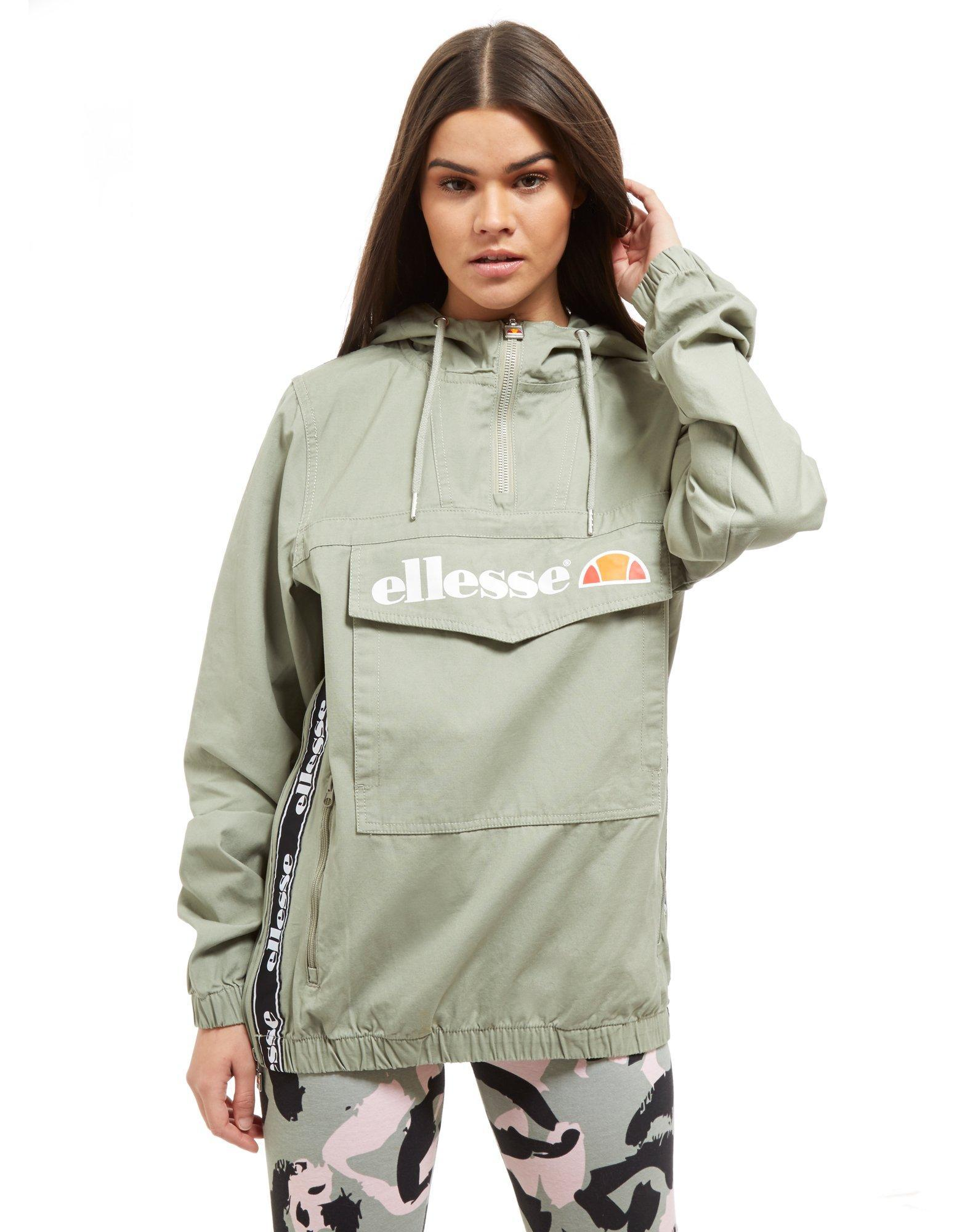 6eb9cb86 Ellesse Multicolor Tape 1/4 Zip Hooded Jacket