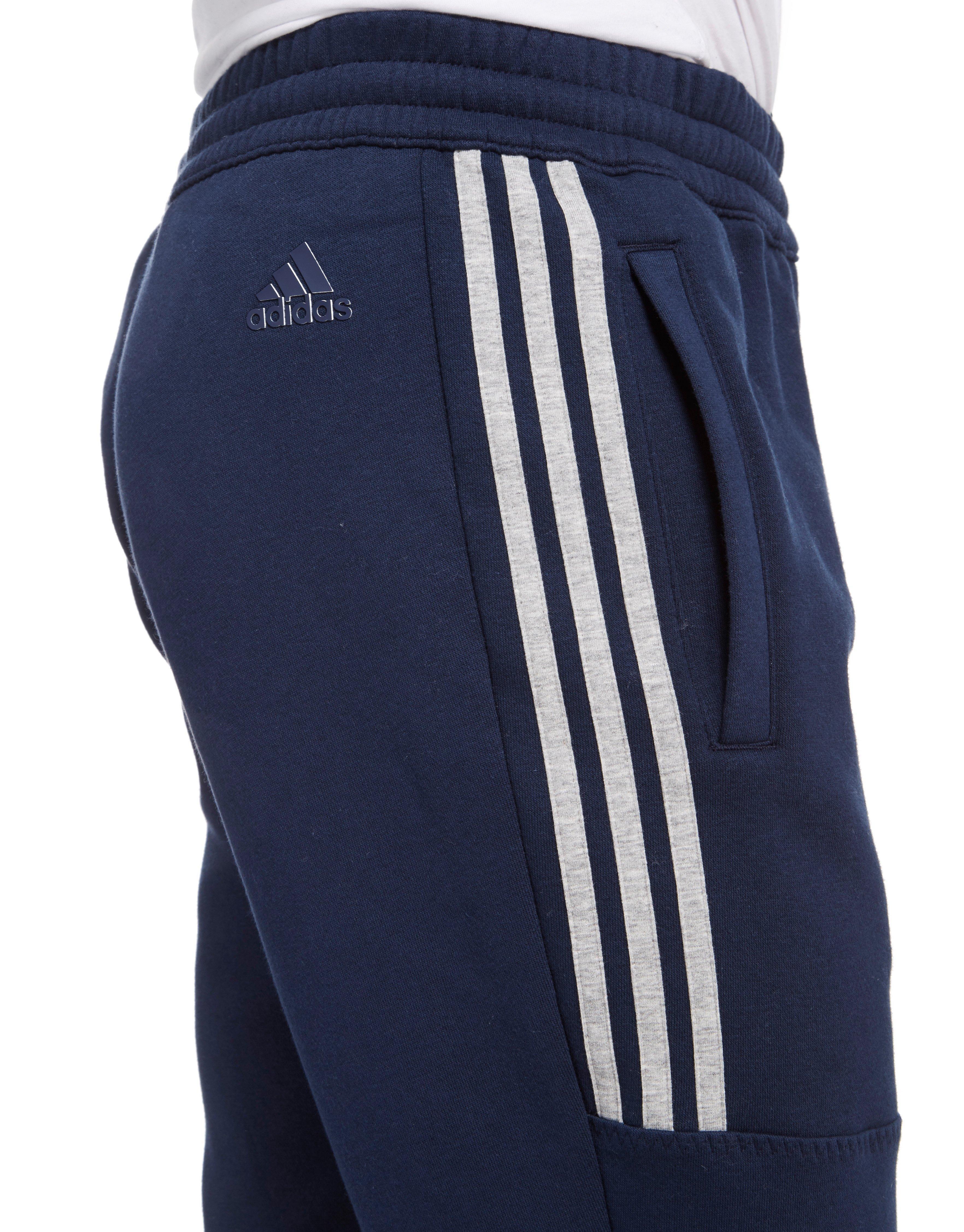 8741b48cb216 Lyst - adidas Linear Fleece Pants in Blue for Men