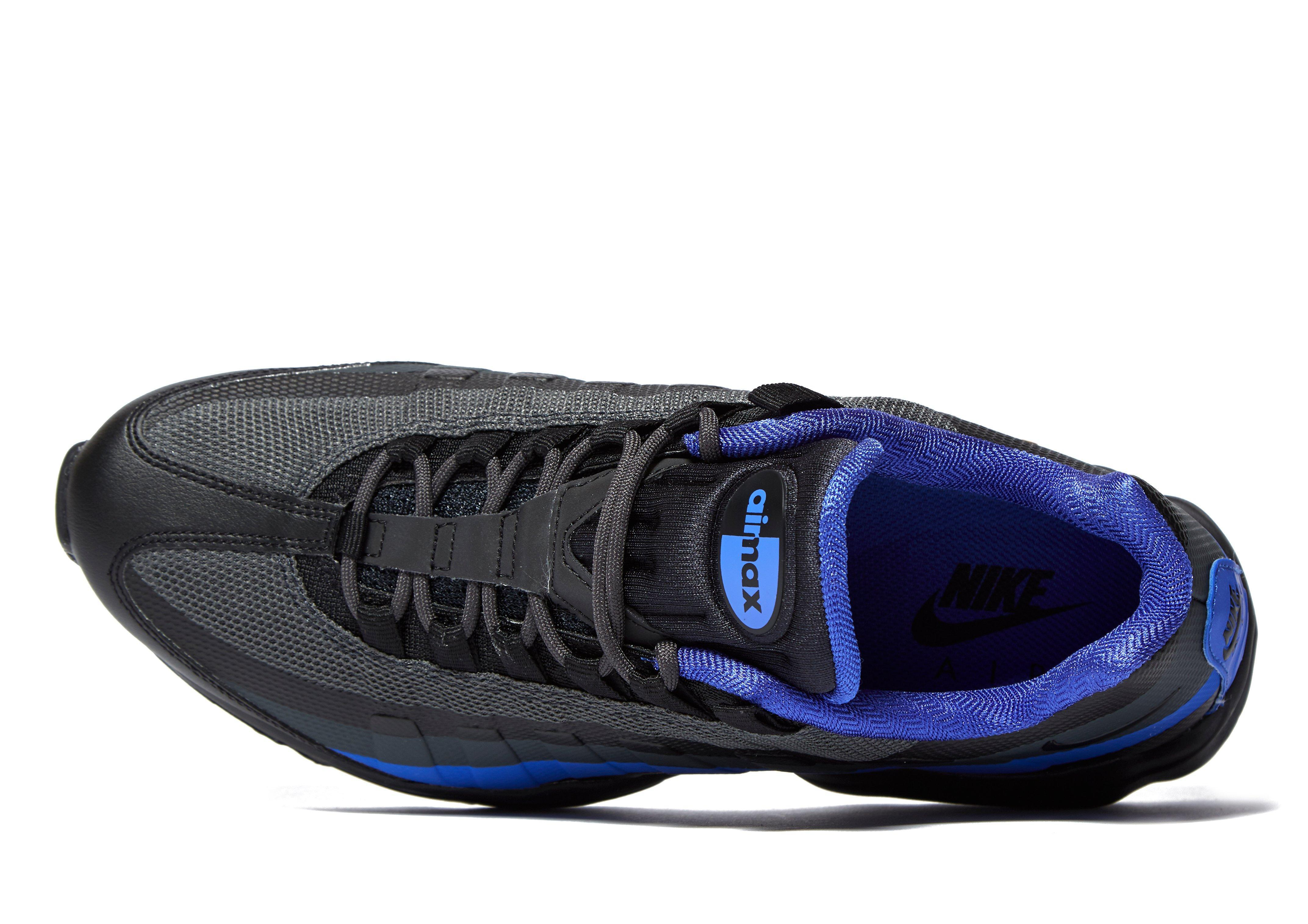 Nike Synthetic Air Max 95 Ultra Essential in Black/Blue (Blue) for ...