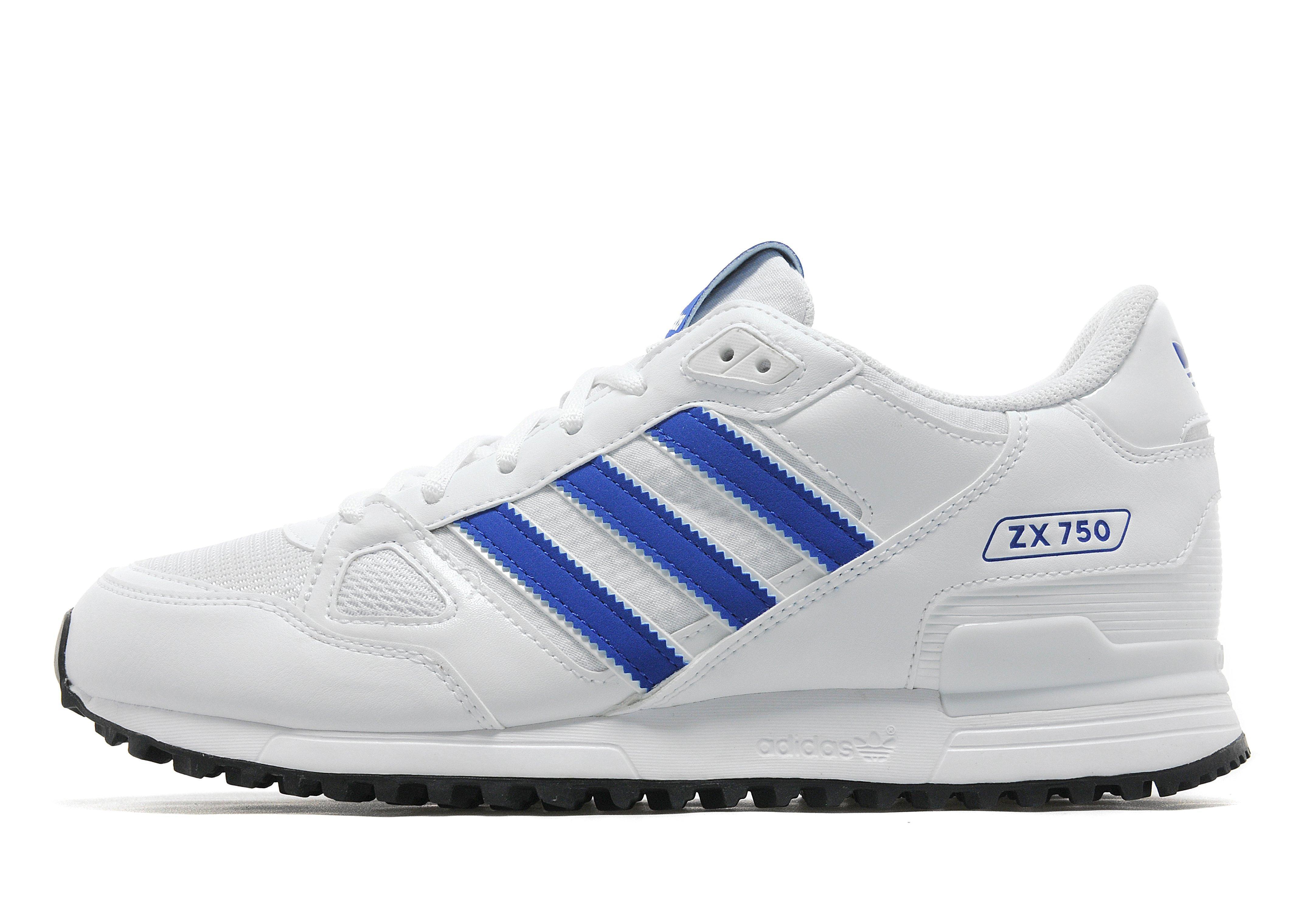 adidas Originals Suede Zx 750 in Blue