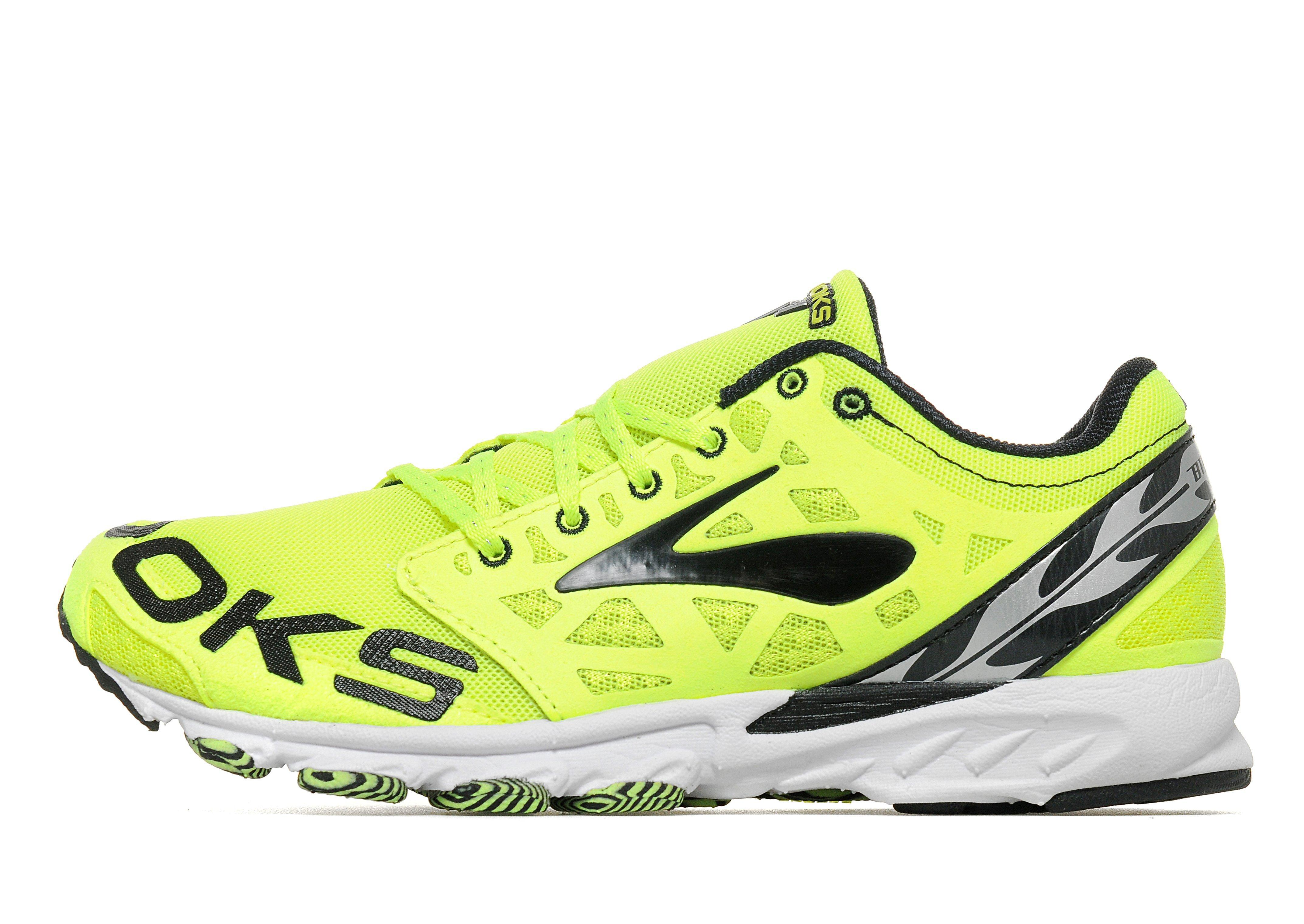 brooks t7 racer unisex running shoes in yellow for men lyst. Black Bedroom Furniture Sets. Home Design Ideas