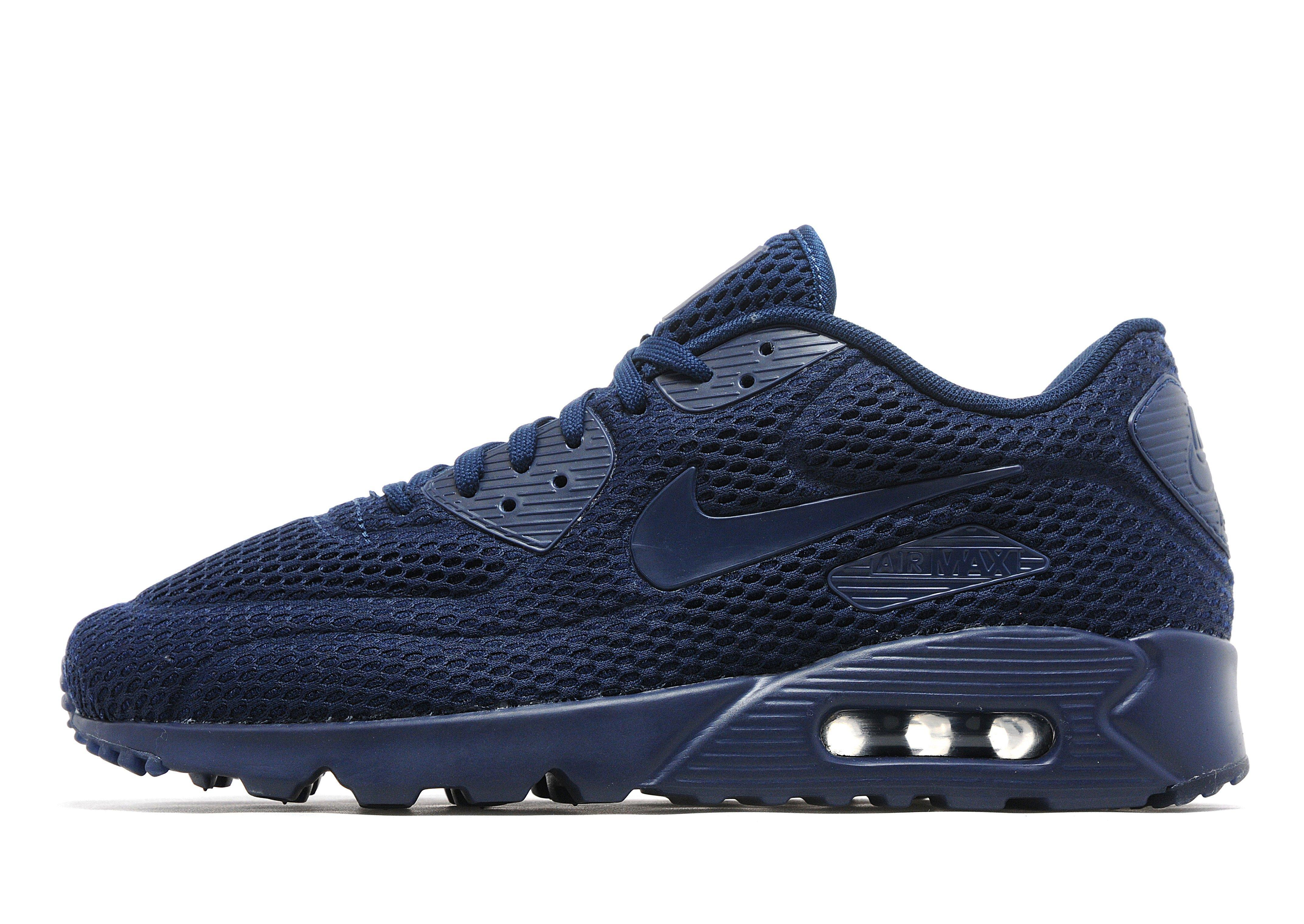 Nike Synthetic Air Max 90 Ultra 'breathe' in Midnight/Blue (Blue ...