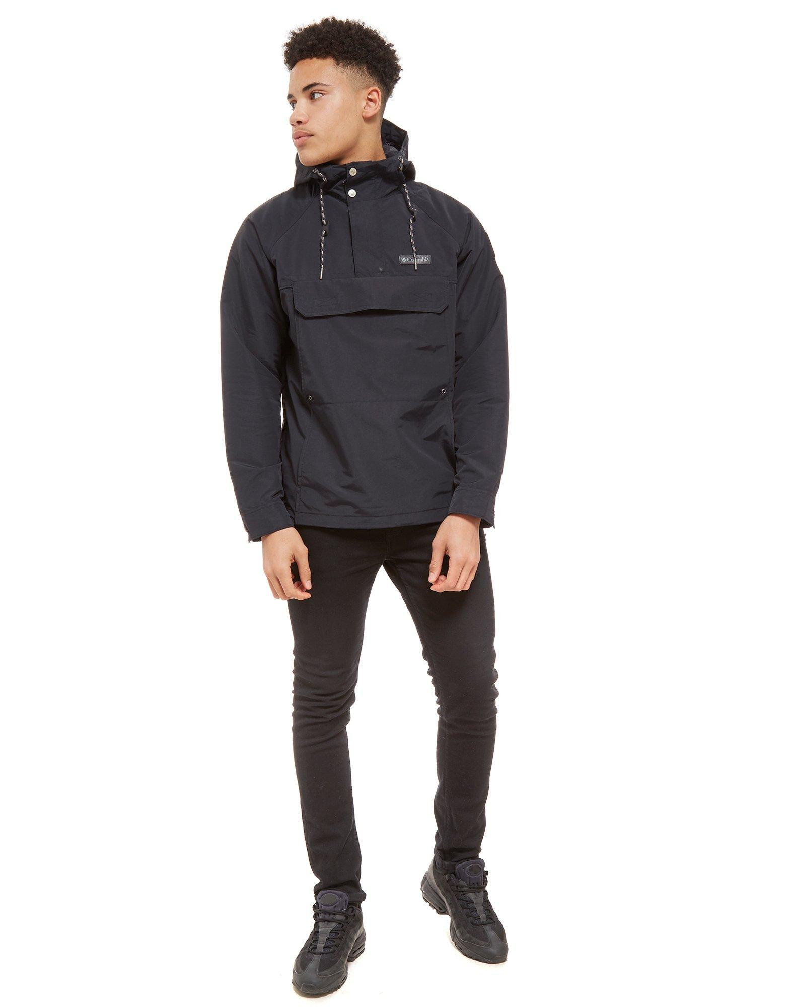 Columbia Synthetic South Canyon Anorak in Black for Men