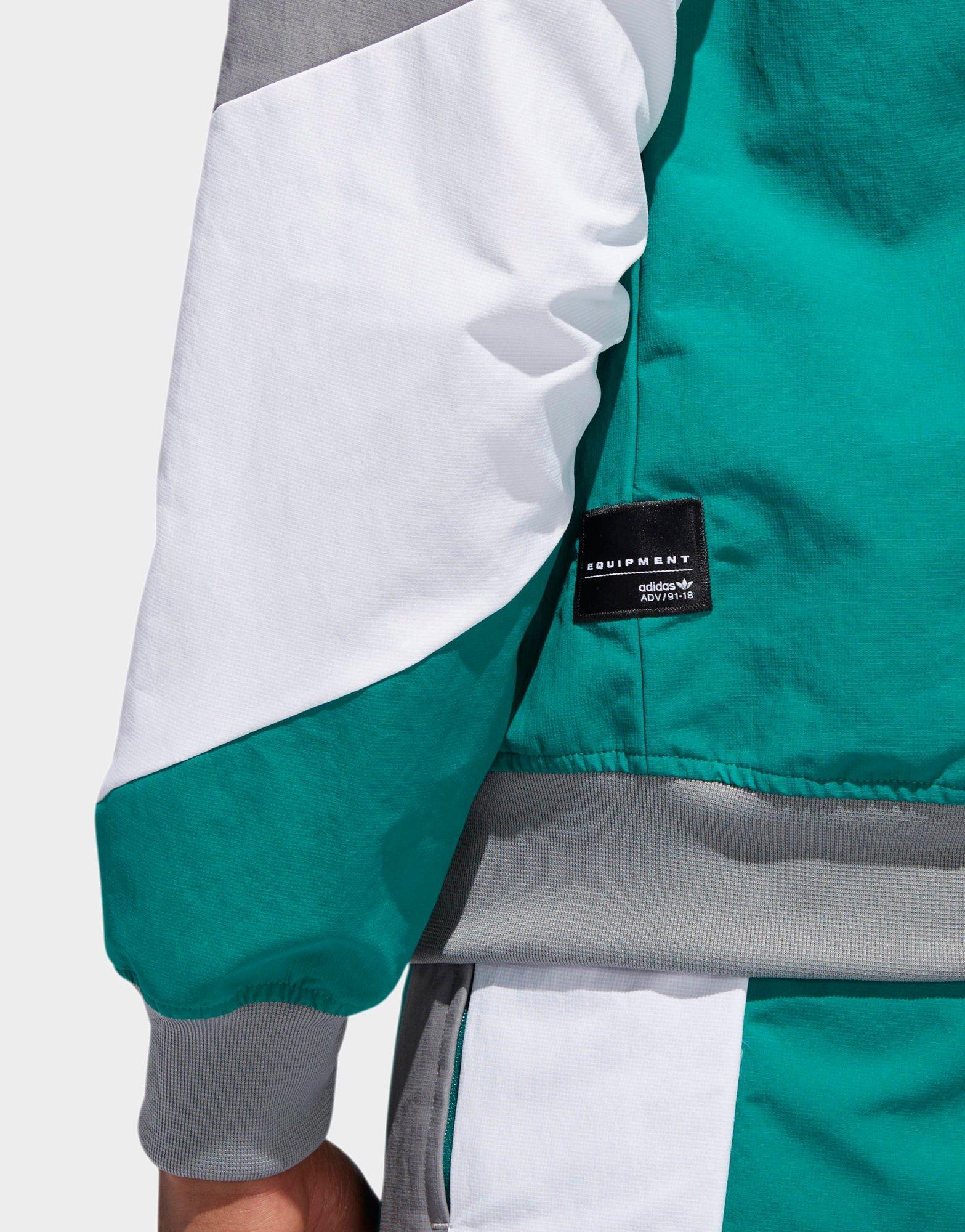 adidas equipment jacket green
