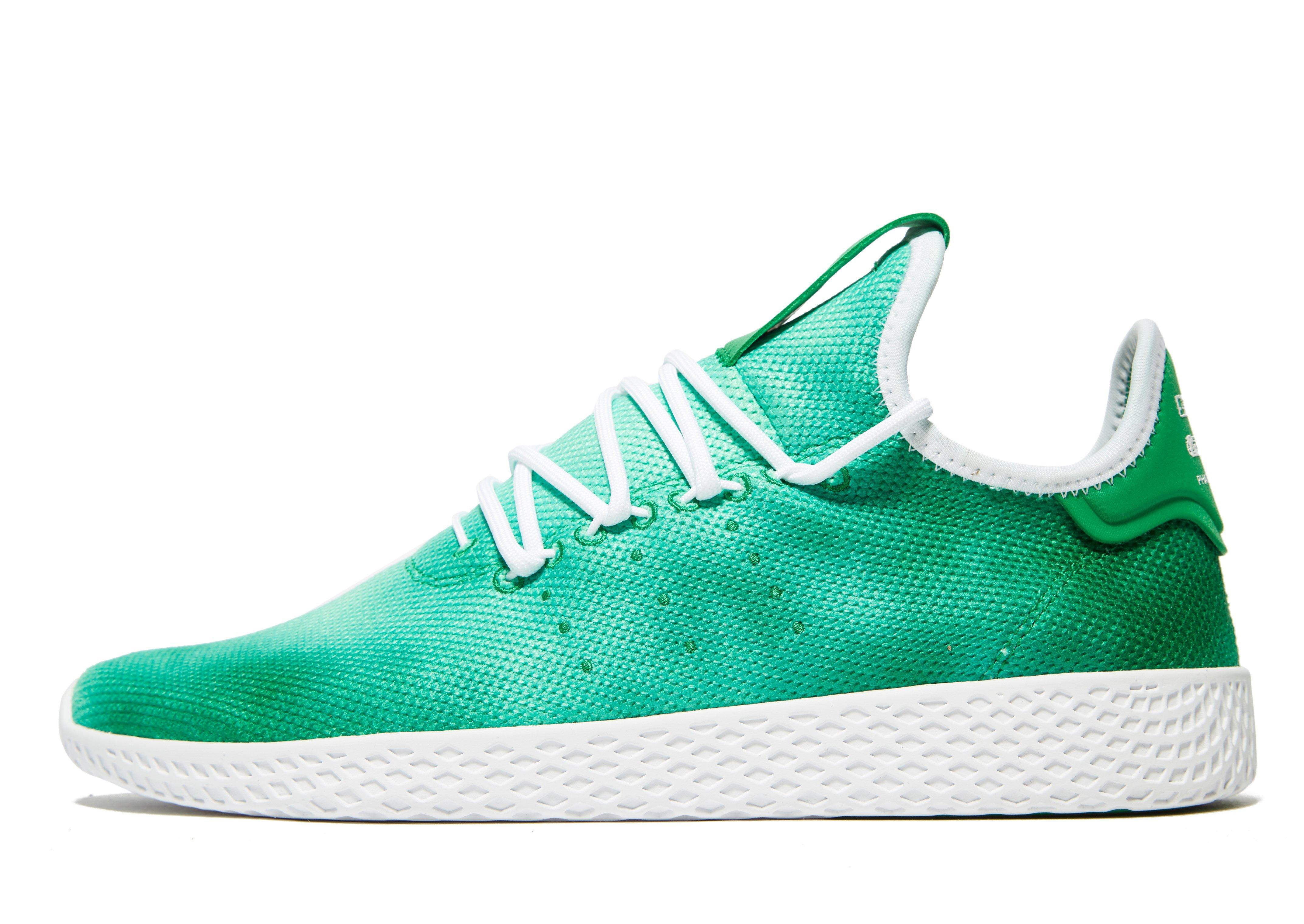 dd92b9e30 ... release date lyst adidas originals x pharrell williams holi tennis hu  in green 314e0 81e7e