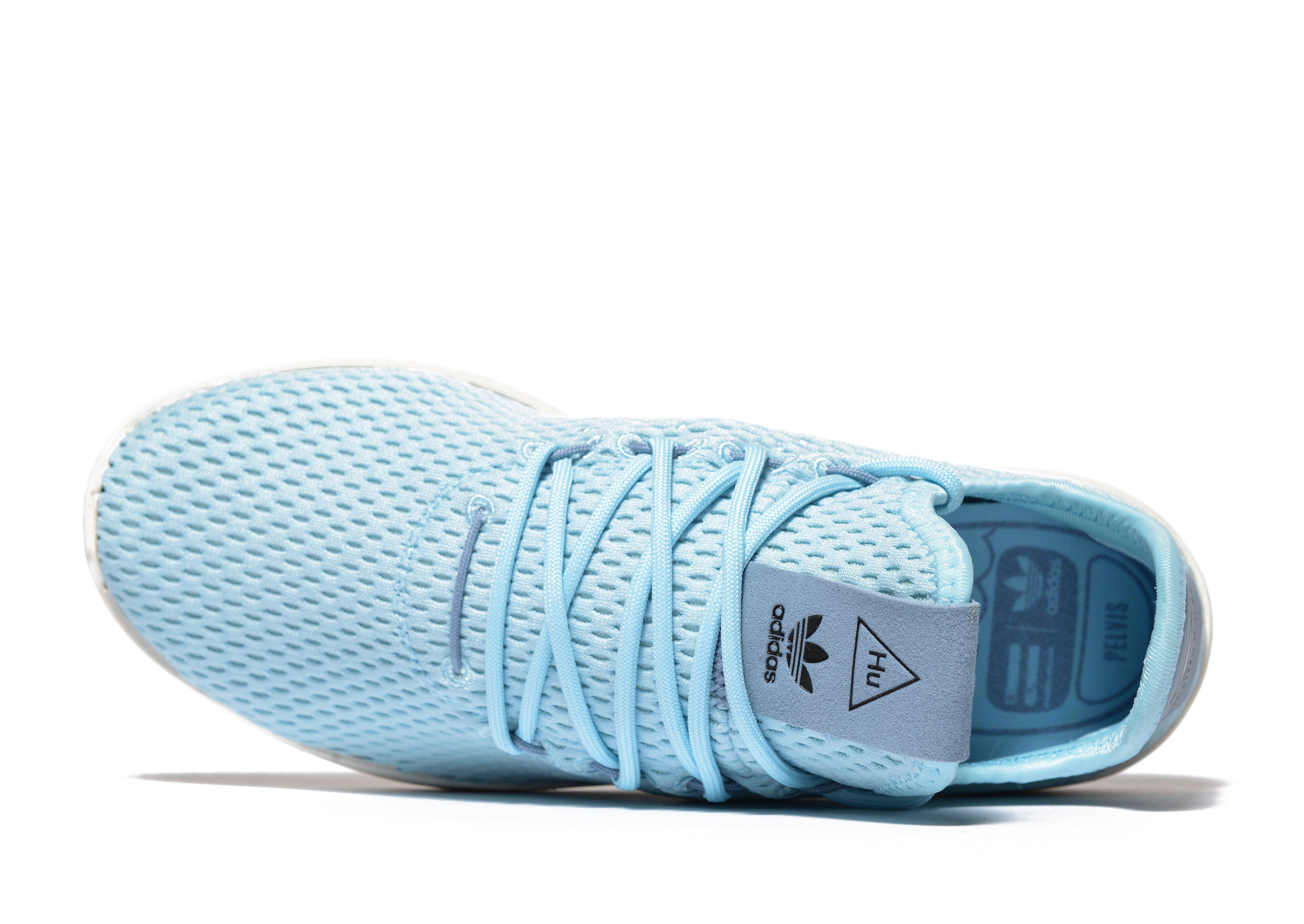 économiser 6770b 39369 Adidas Originals Blue Pharrell Williams Tennis Hu Junior for men