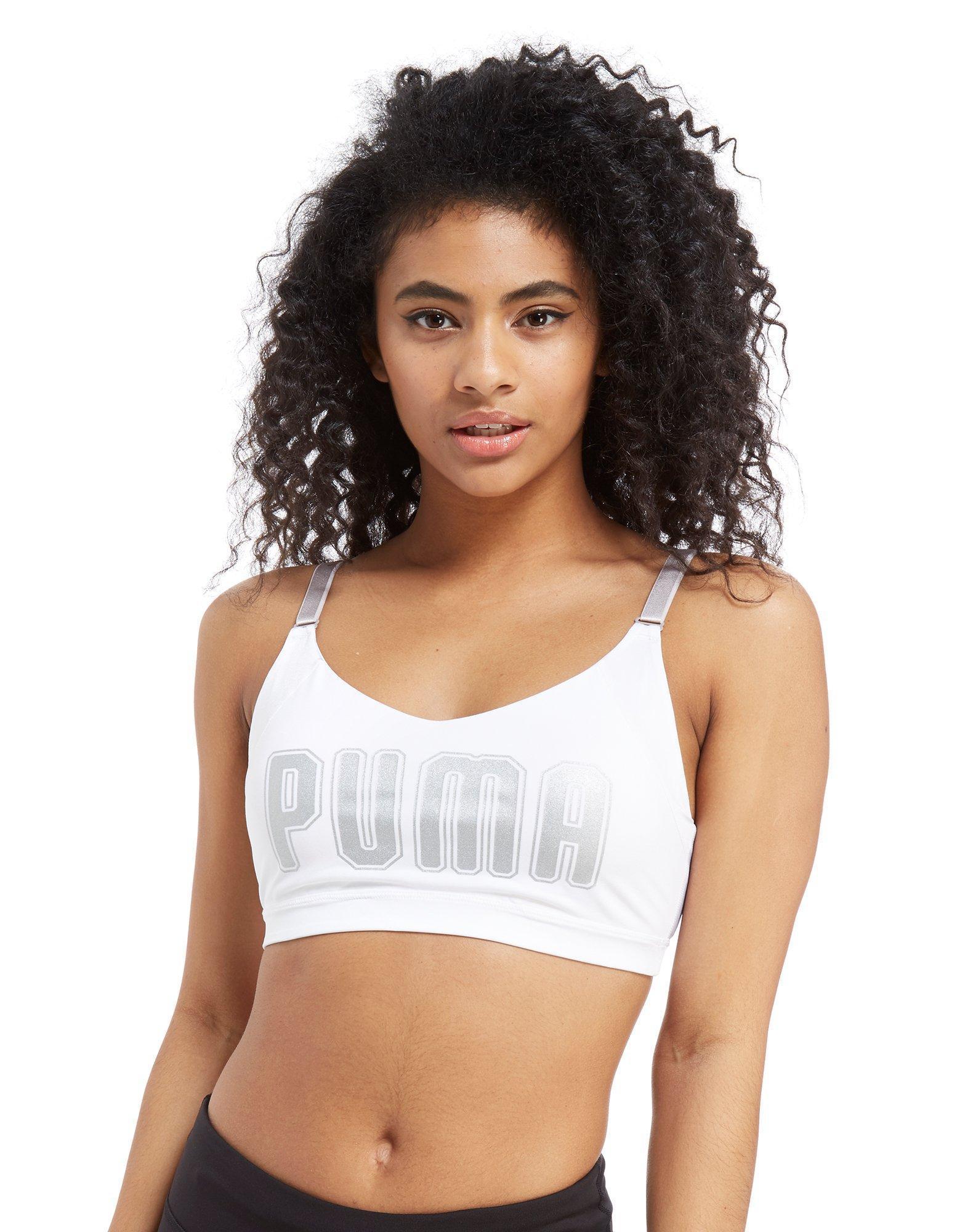 Logo In Pointe Lyst Bra En Puma Sports White BgEx8wwq