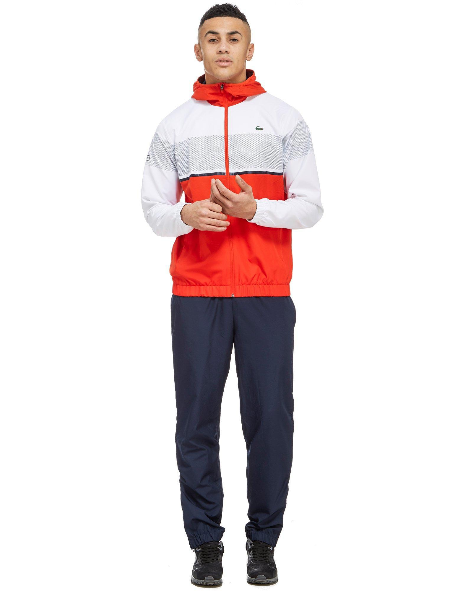 2910b6f12 Lyst - Lacoste Colour Block Tracksuit in Red for Men