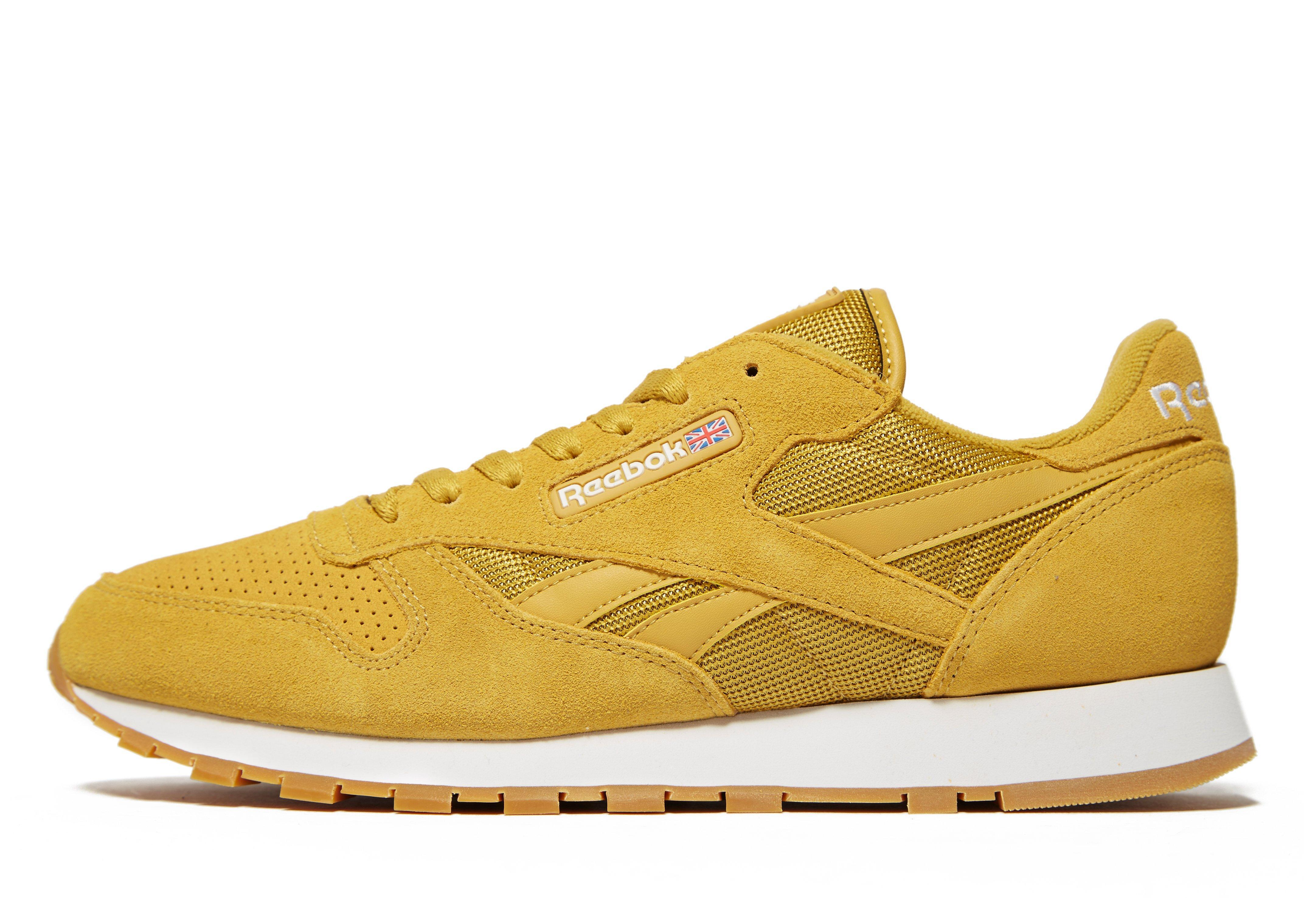 1abcef77e8f8b5 Reebok Classic Sg in Yellow for Men - Lyst