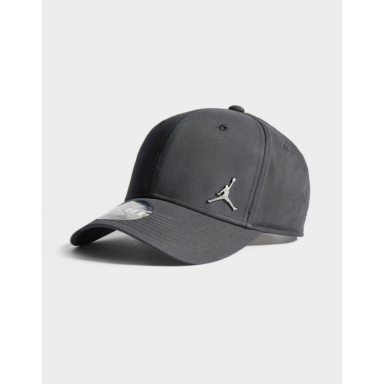 93862207fe92 Nike - Black Metal Jumpman Cap for Men - Lyst. View fullscreen