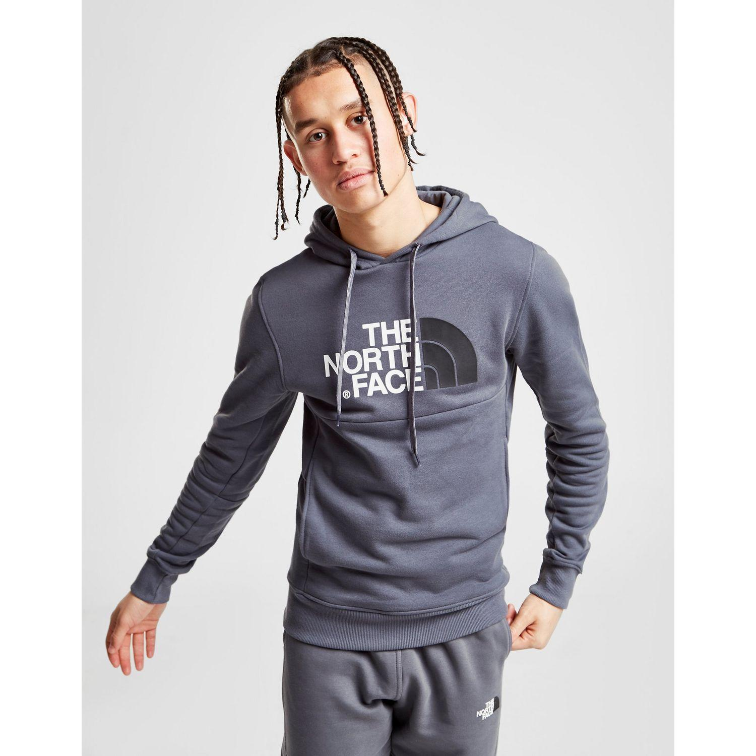 47ad3bd0e The North Face Bondi Overhead Fleece Hoodie in Gray for Men - Lyst