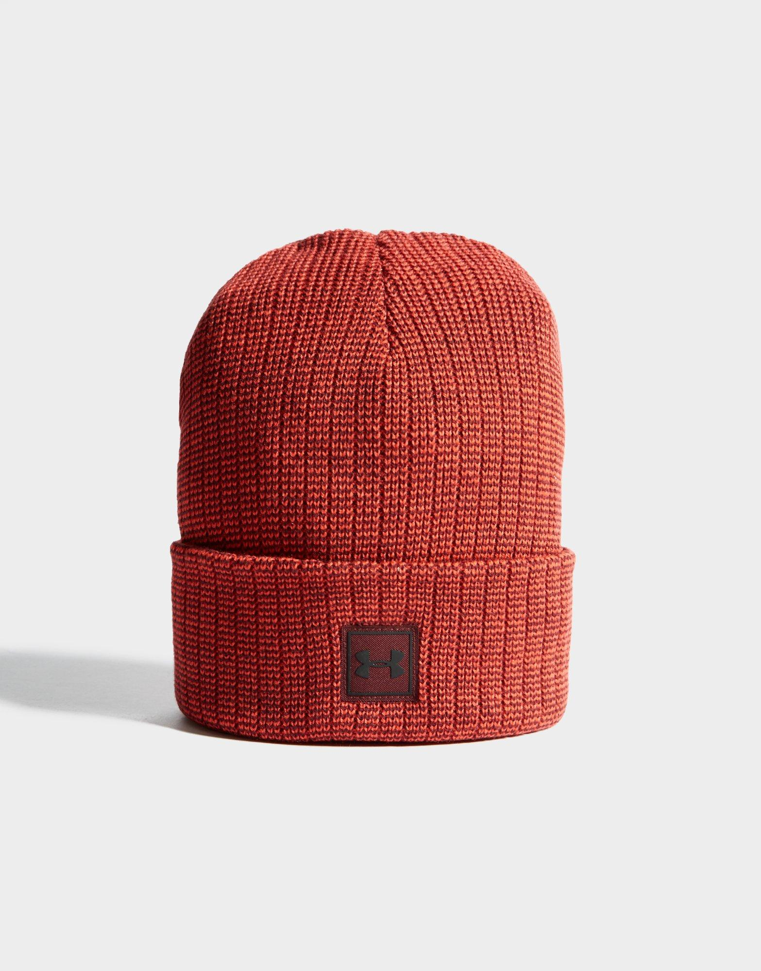 Under Armour Truckstop Beanie in Red for Men - Lyst 025813b83bb8