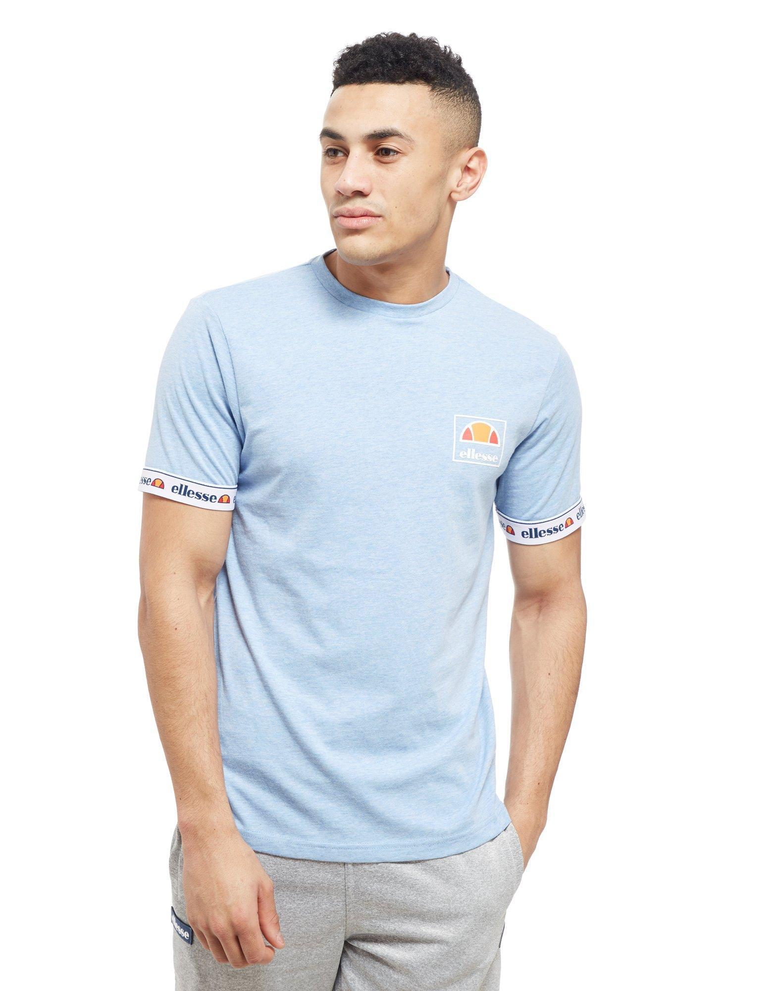 4a999c62ca Ellesse Blue Maso Tape T-shirt for men