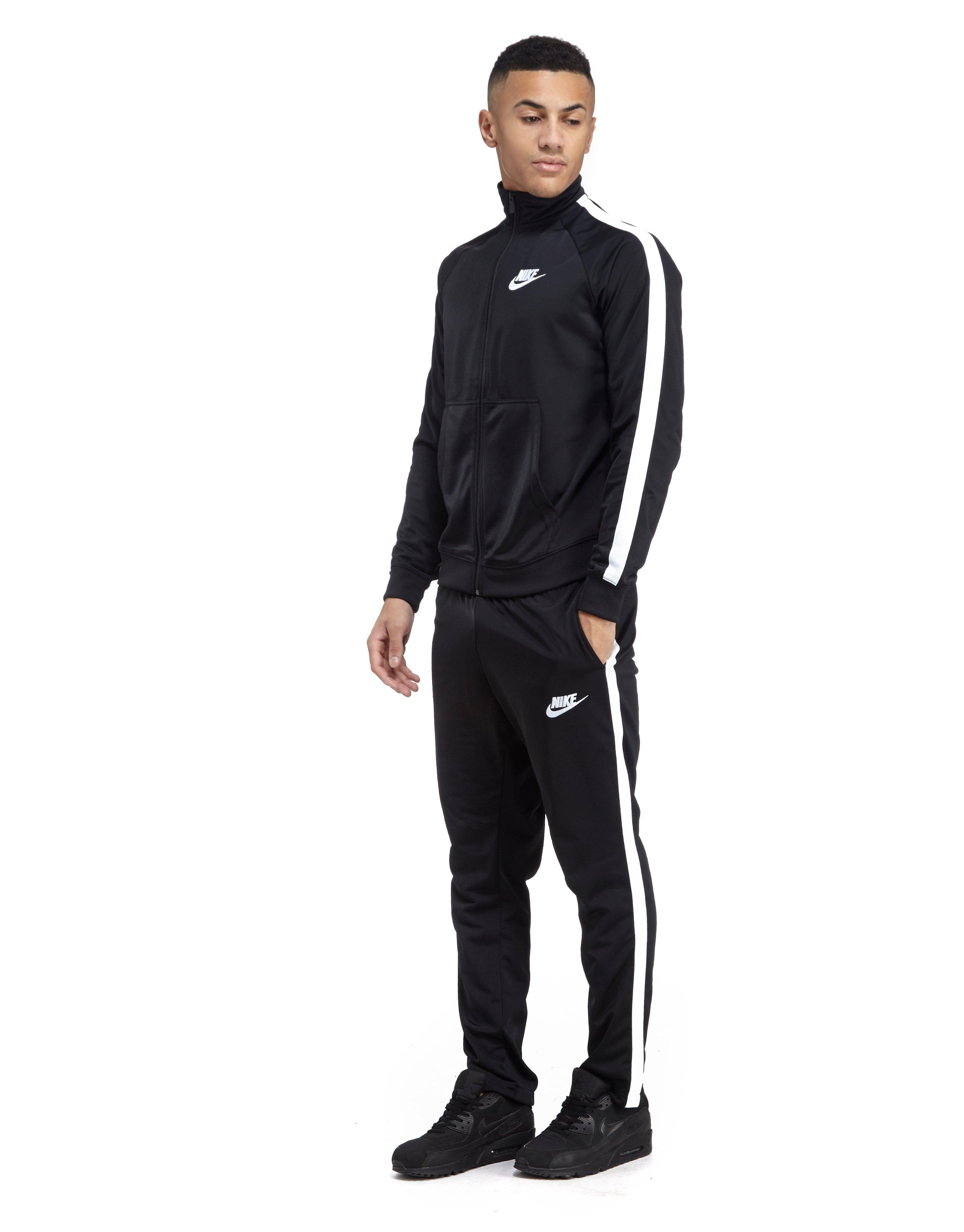 a4995eedf5b3 Nike Season Poly Tracksuit in Black for Men - Lyst