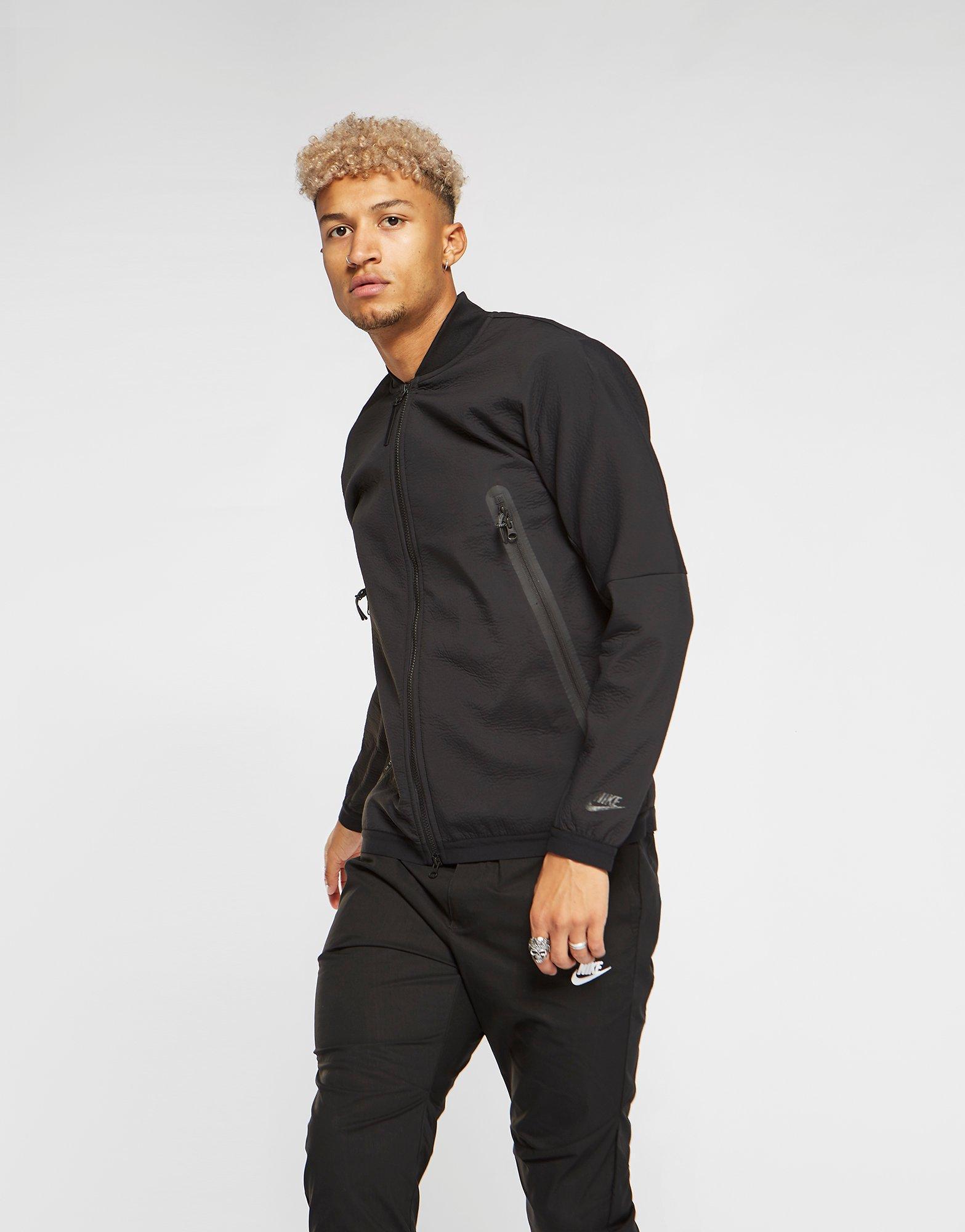 af31db3608a0 Lyst - Nike Tech Woven Jacket in Black for Men